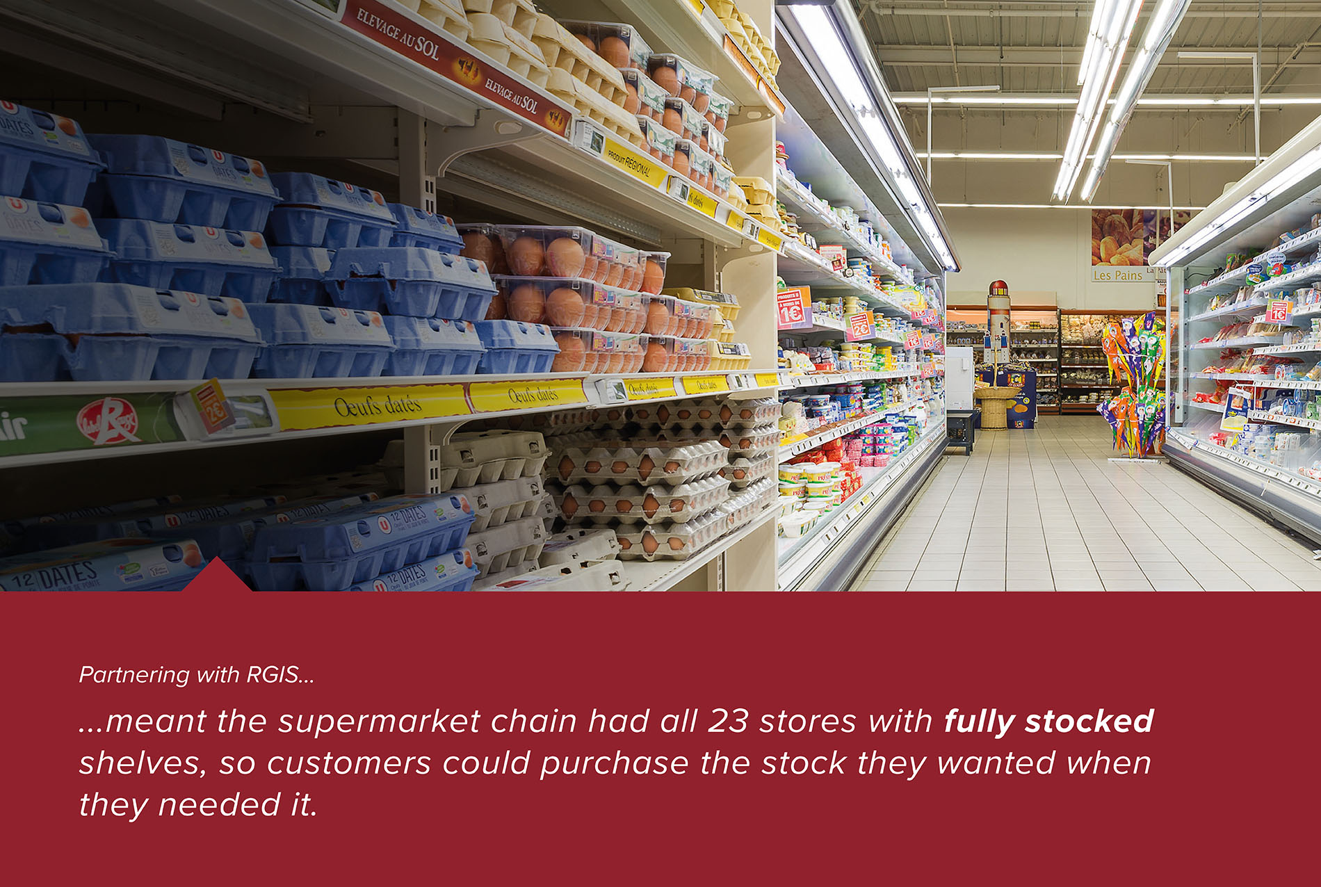 RGIS Case Study of Stock Replenishment