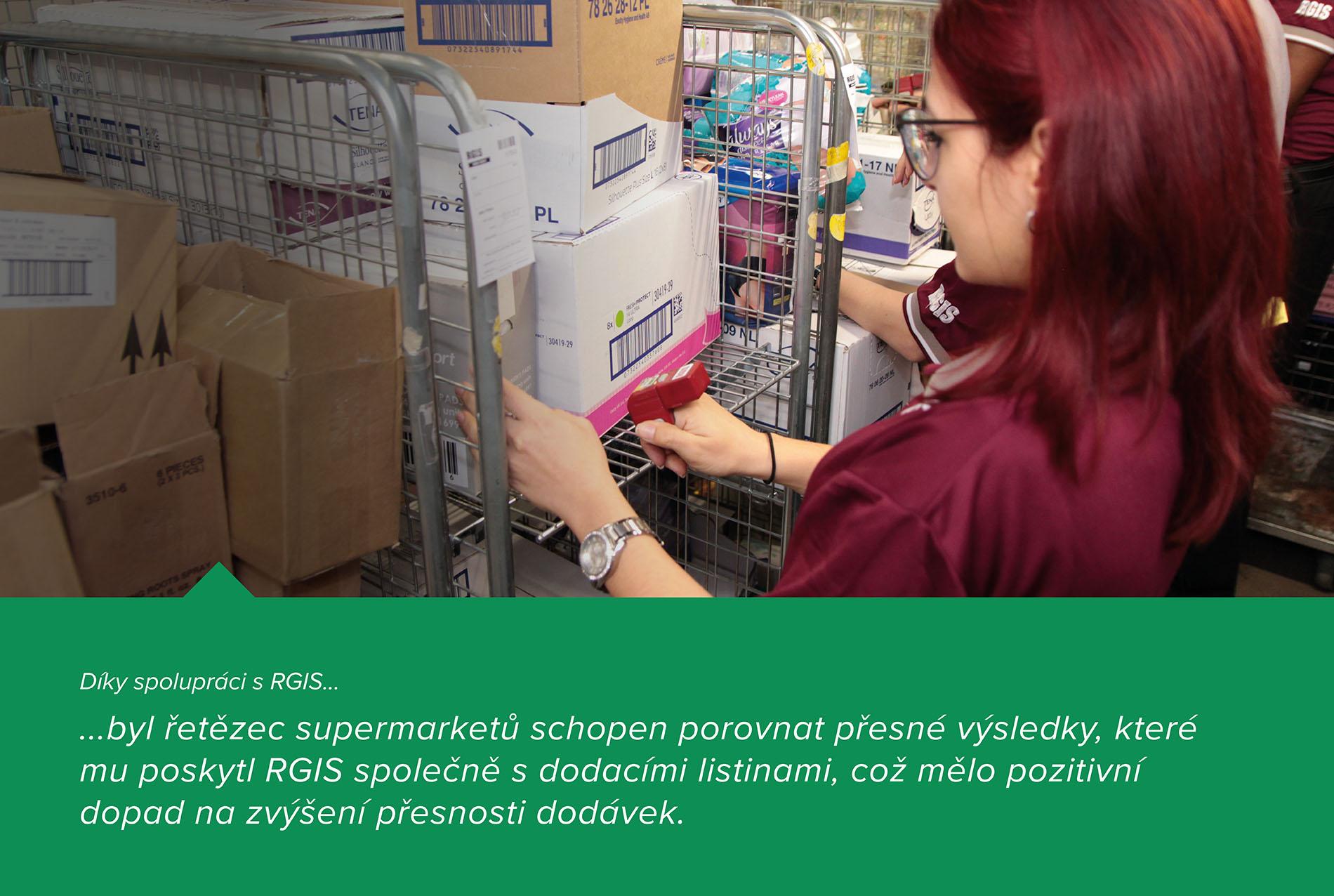 Kontroly dodávek distribučního centra
