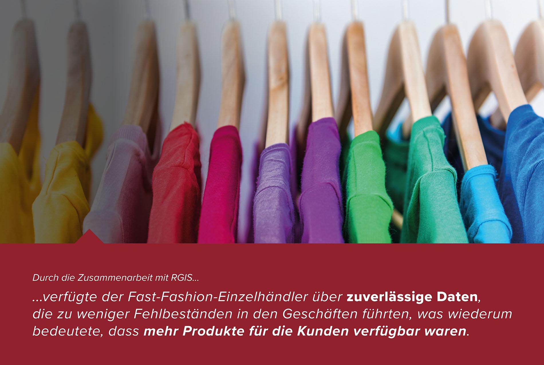 Lösung für die Inventur im Fast-Fashion-Einzelhandel