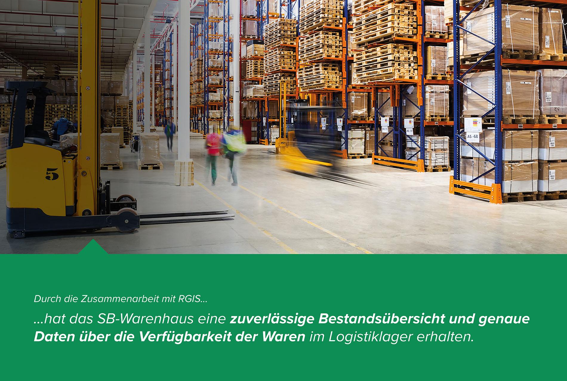 SB-Warenhaus Lagerzählung