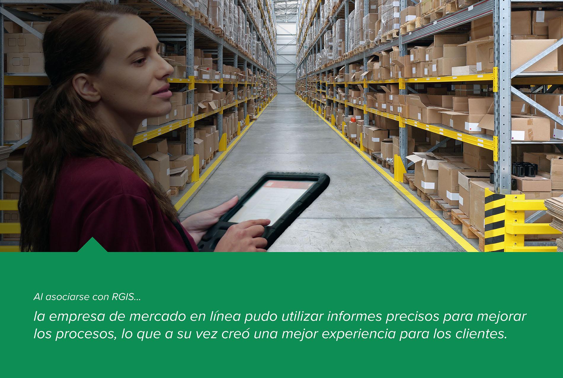 Auditoría de eficiencia de un centro logístico