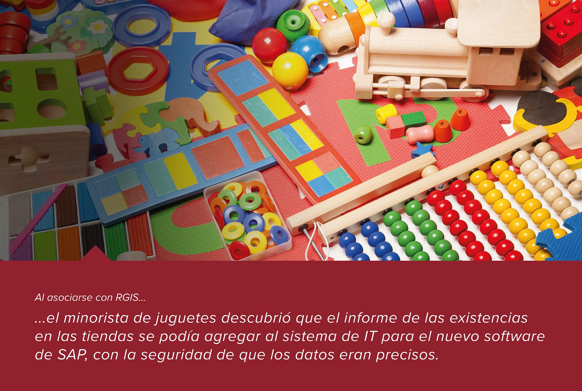 Inventario de múltiples tiendas de juguetes por migración al software SAP