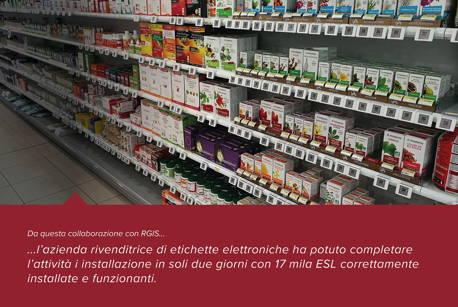 Installazione di Etichette Elettroniche