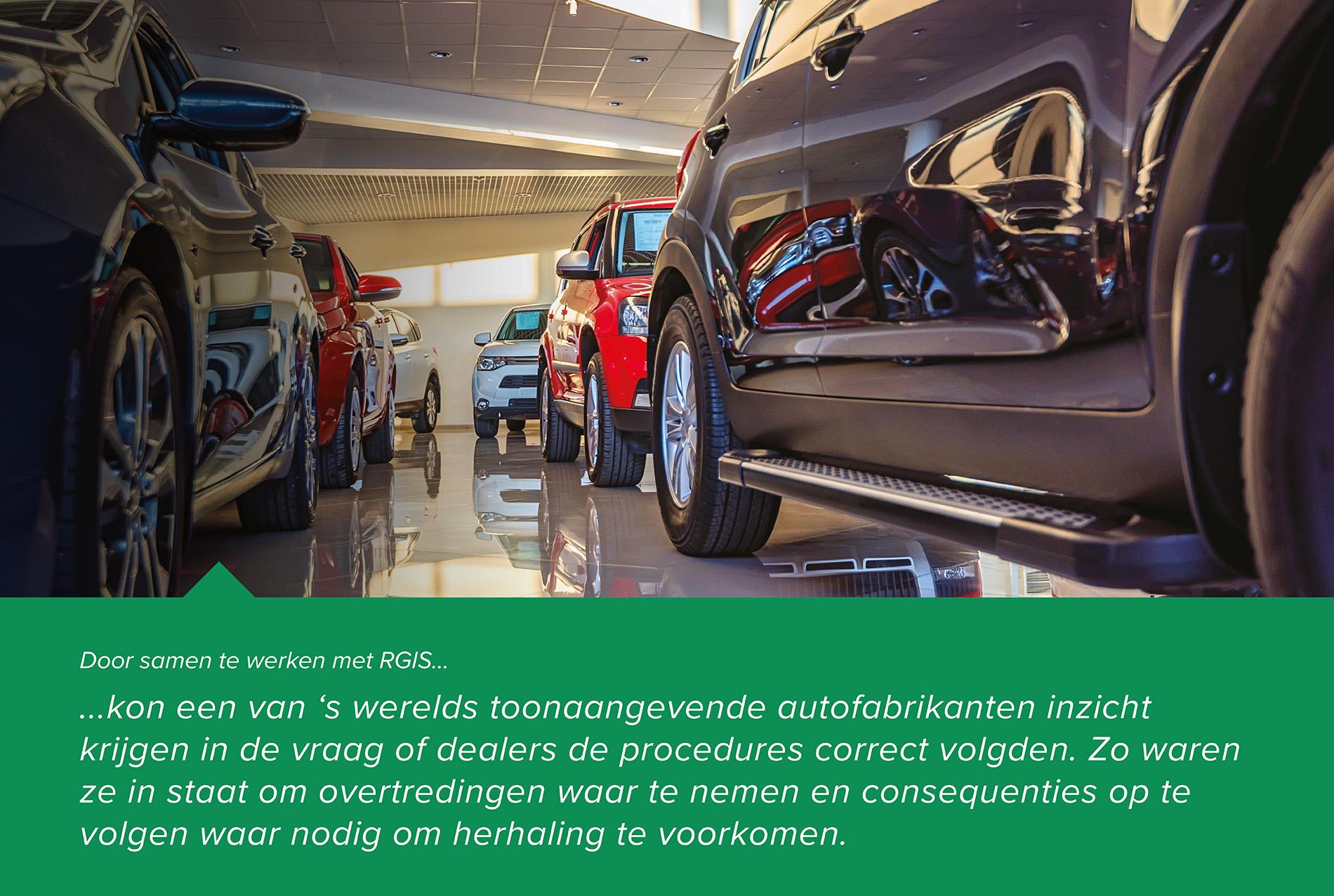 Voorraadcontrole voor een autofabrikant