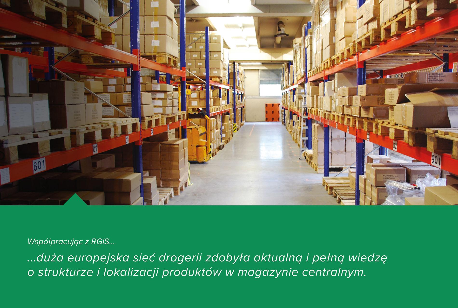 Studium przypadku RGIS dotyczące inwentaryzacji od ściany do ściany w magazynie centralnym
