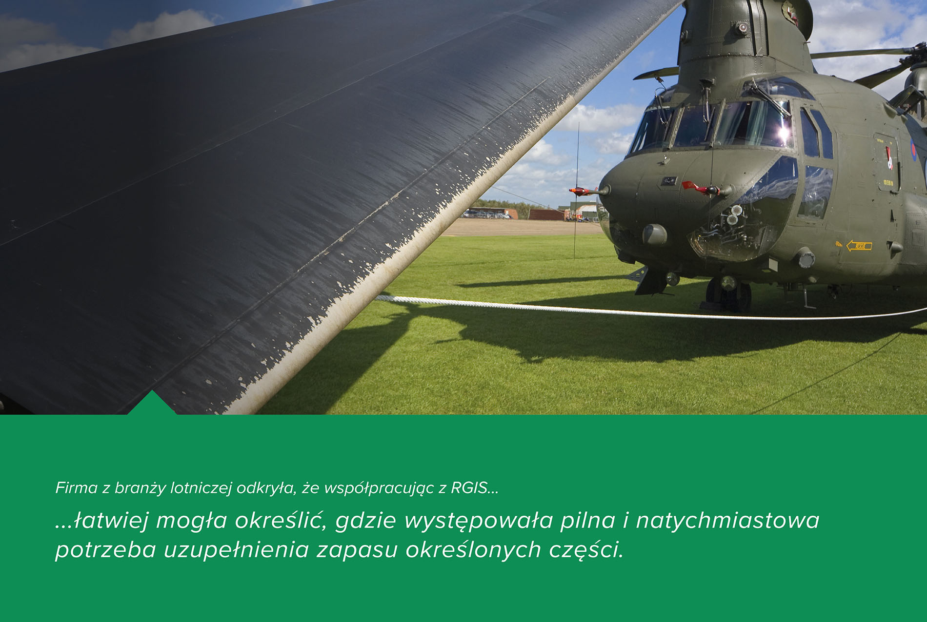 RGIS Studium przypadku Wykaz części lotniczych