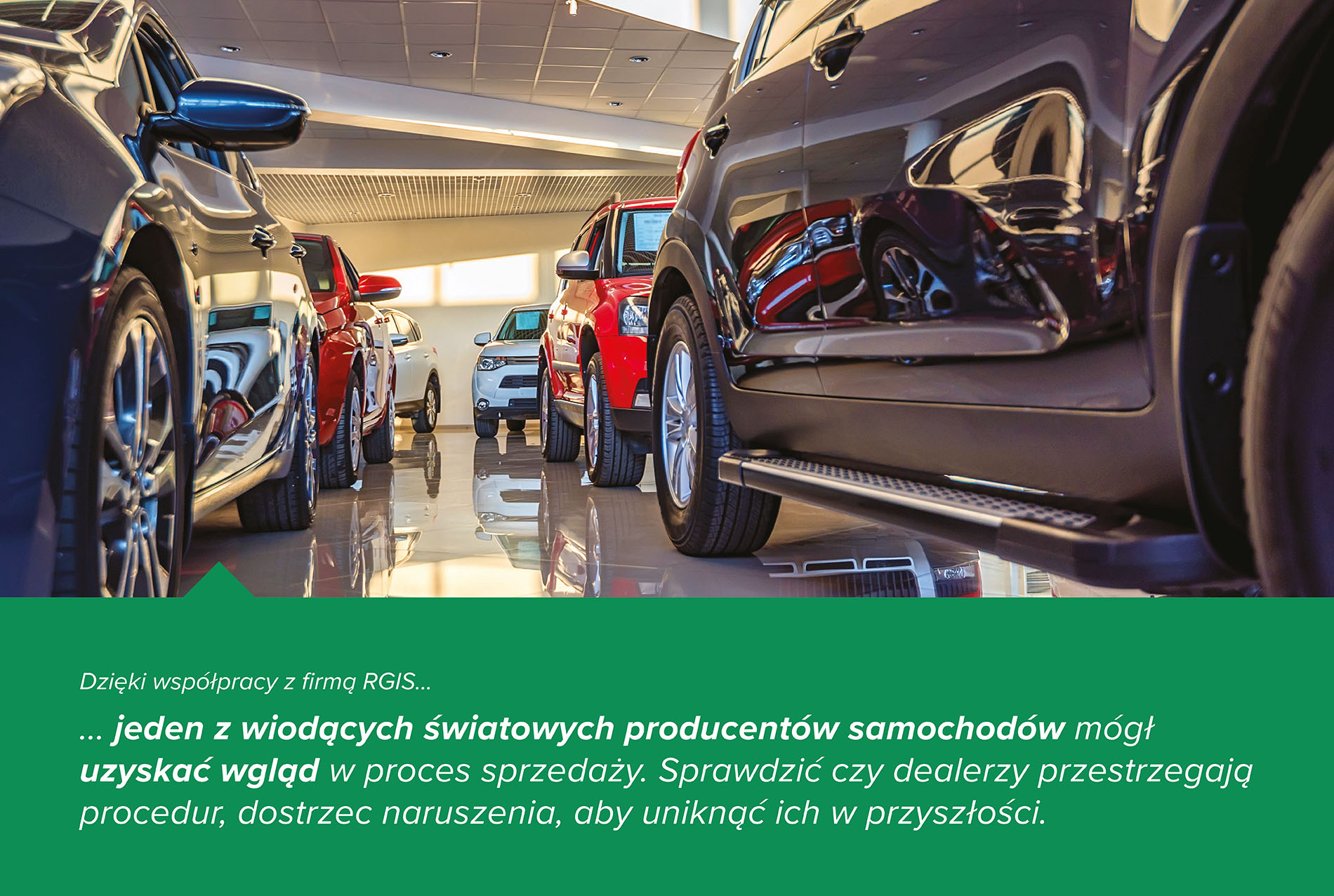 Studium przypadku RGIS dotyczące usługi audytu pośrednictwa pojazdów