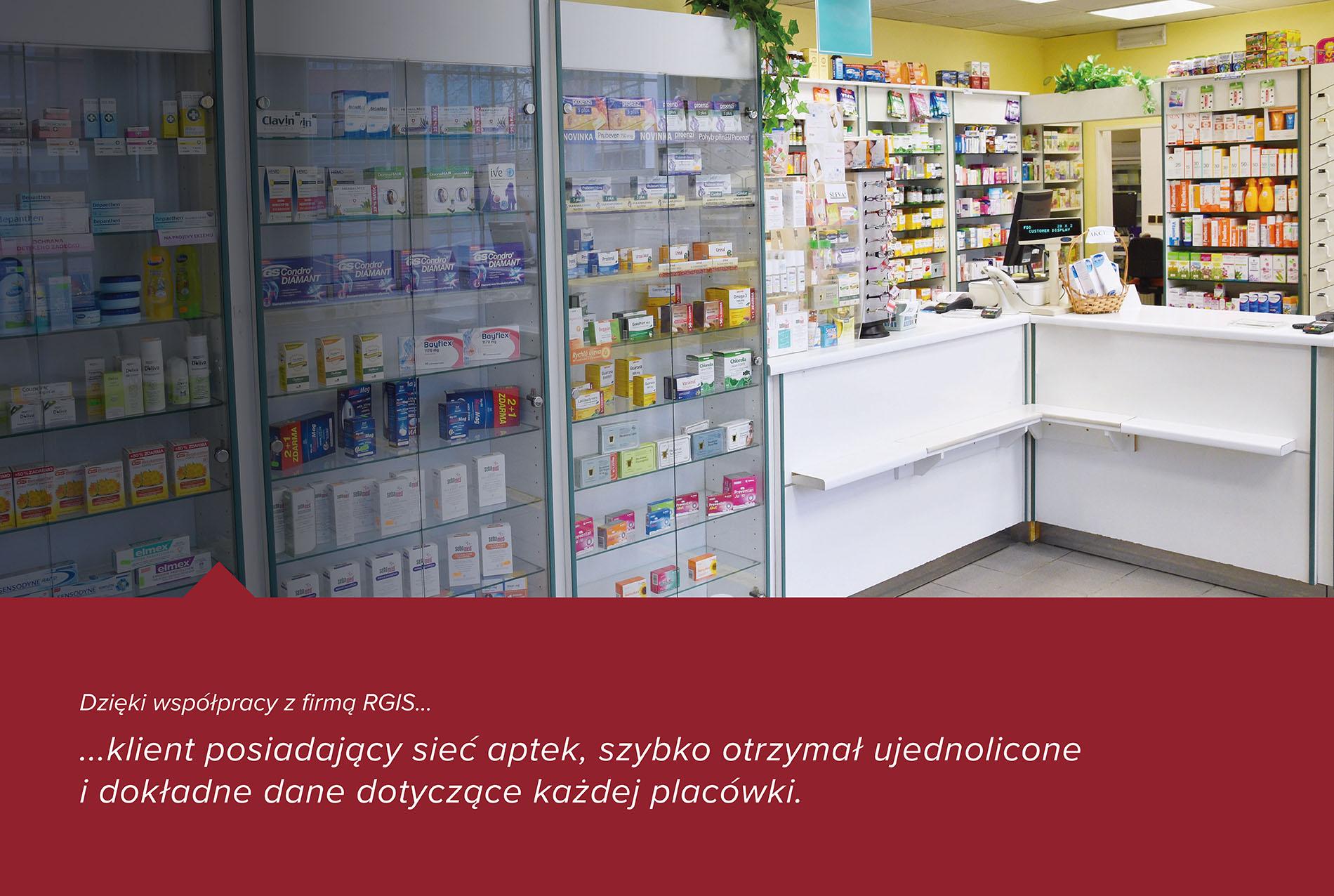 Inwentaryzacja sieci aptek na terenie całego kraju