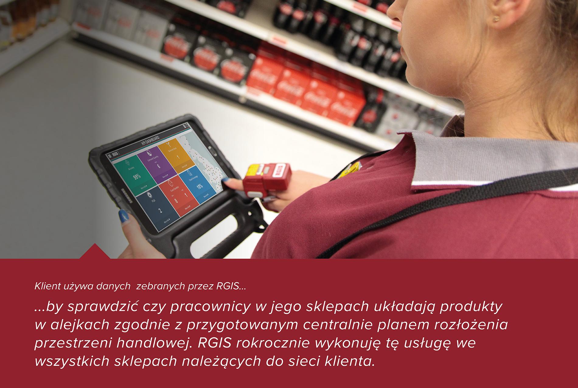 Studium przypadku RGIS dotyczące produktów w określonych polach