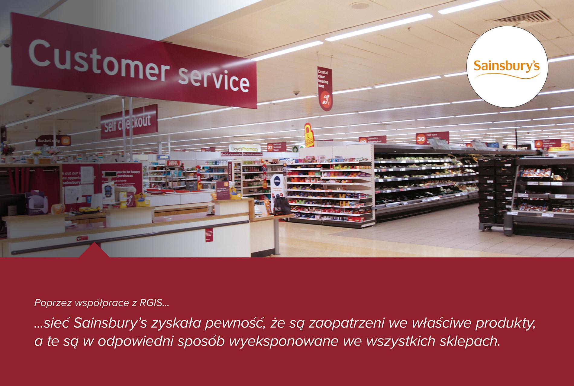 Studium przypadku RGIS dotyczące oznakowania w sklepie detalicznym