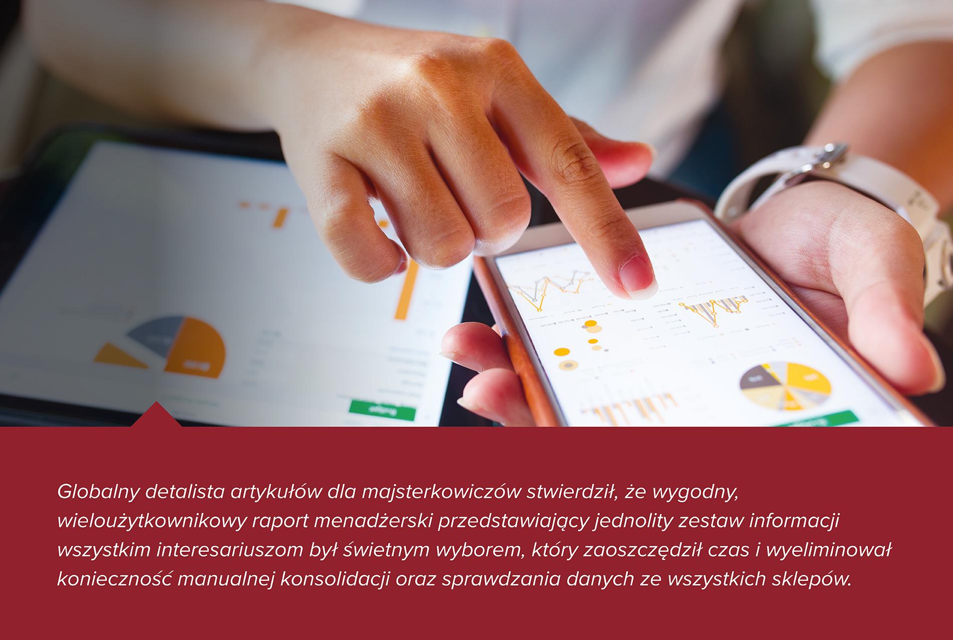 Studium przypadku dotyczące konsolidacji danych inwentaryzacyjnych