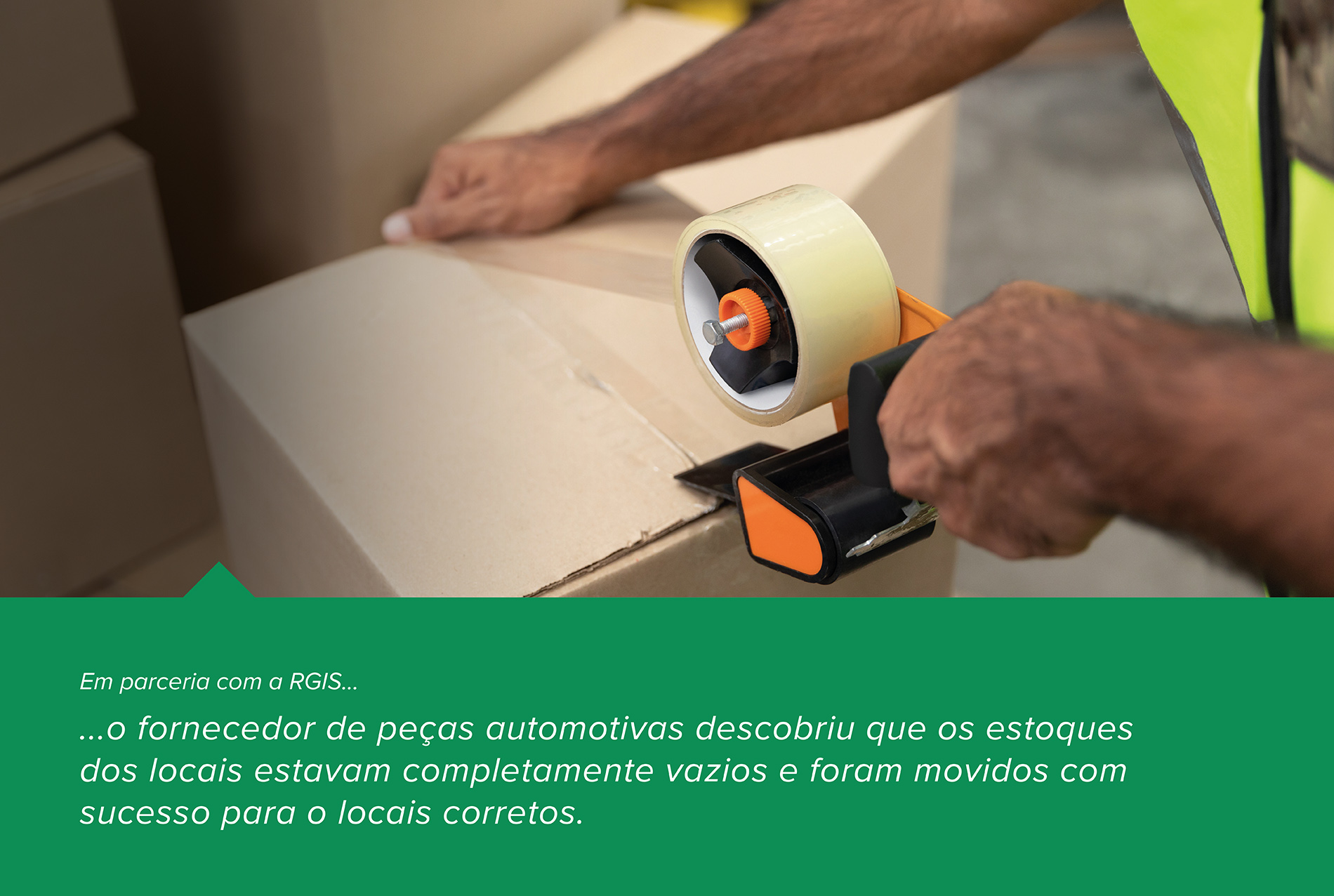 Suporte de pessoal para Fornecedor de peças automotivas e para realocação de estoque
