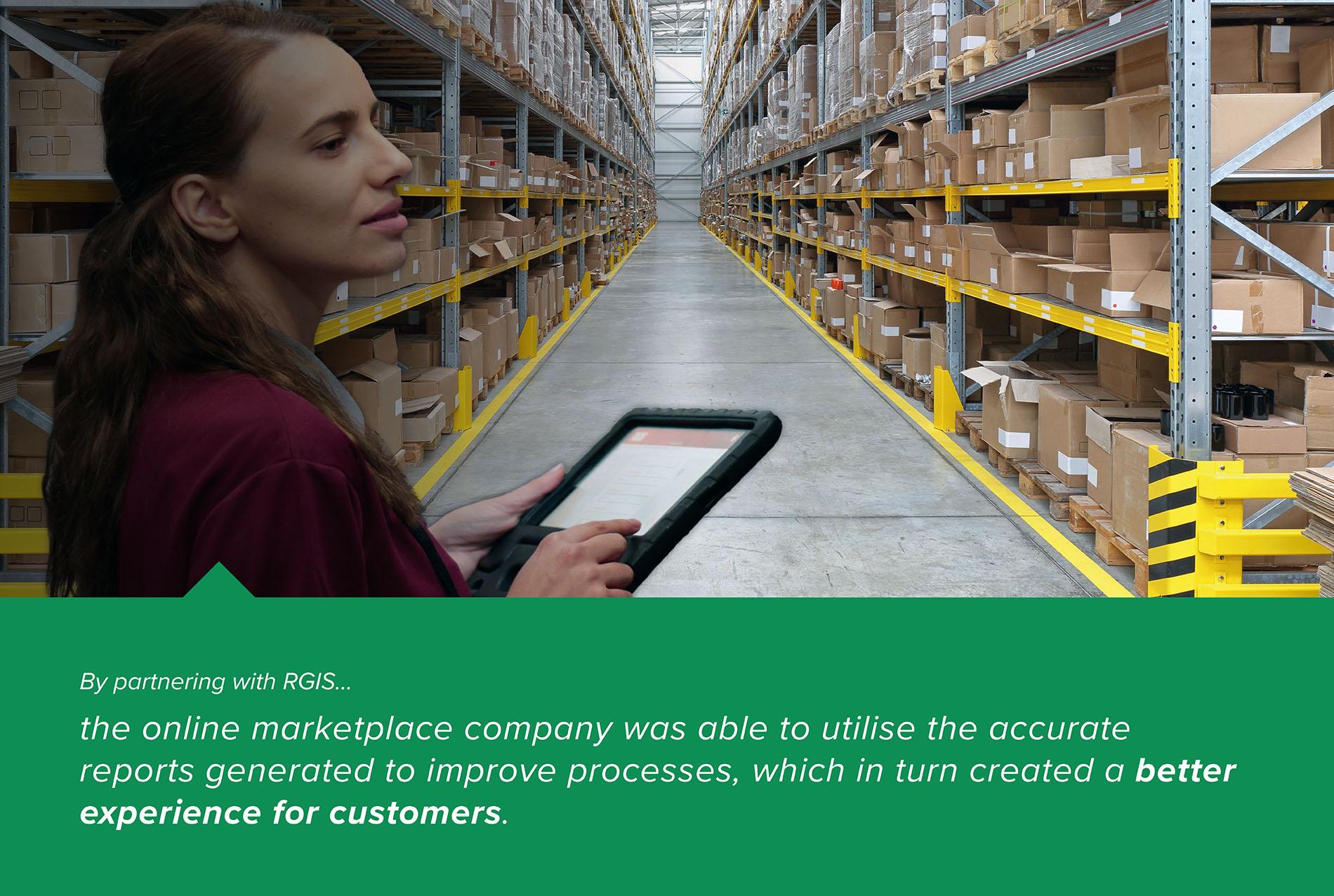 RGIS Logistic Centre Efficiency Audit Case Study