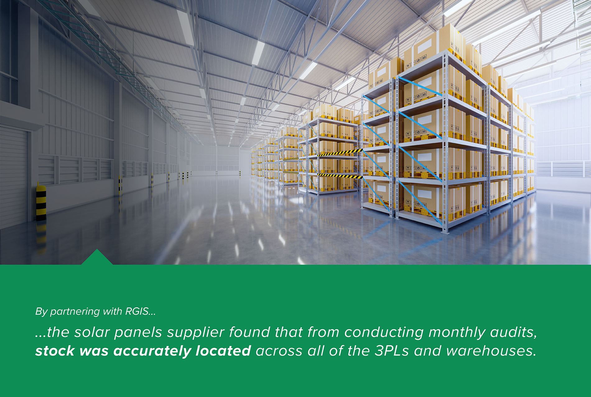 Monthly 3PL and Warehouse Location of Stock Audit Case Study