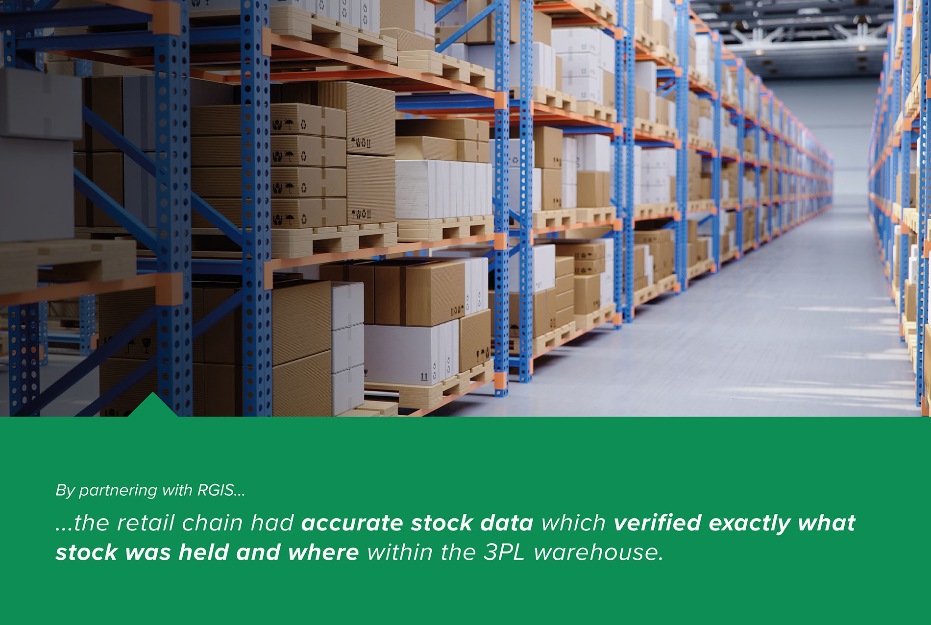 Fashion, Food and Hardware Retailer 3PL Warehouse Count