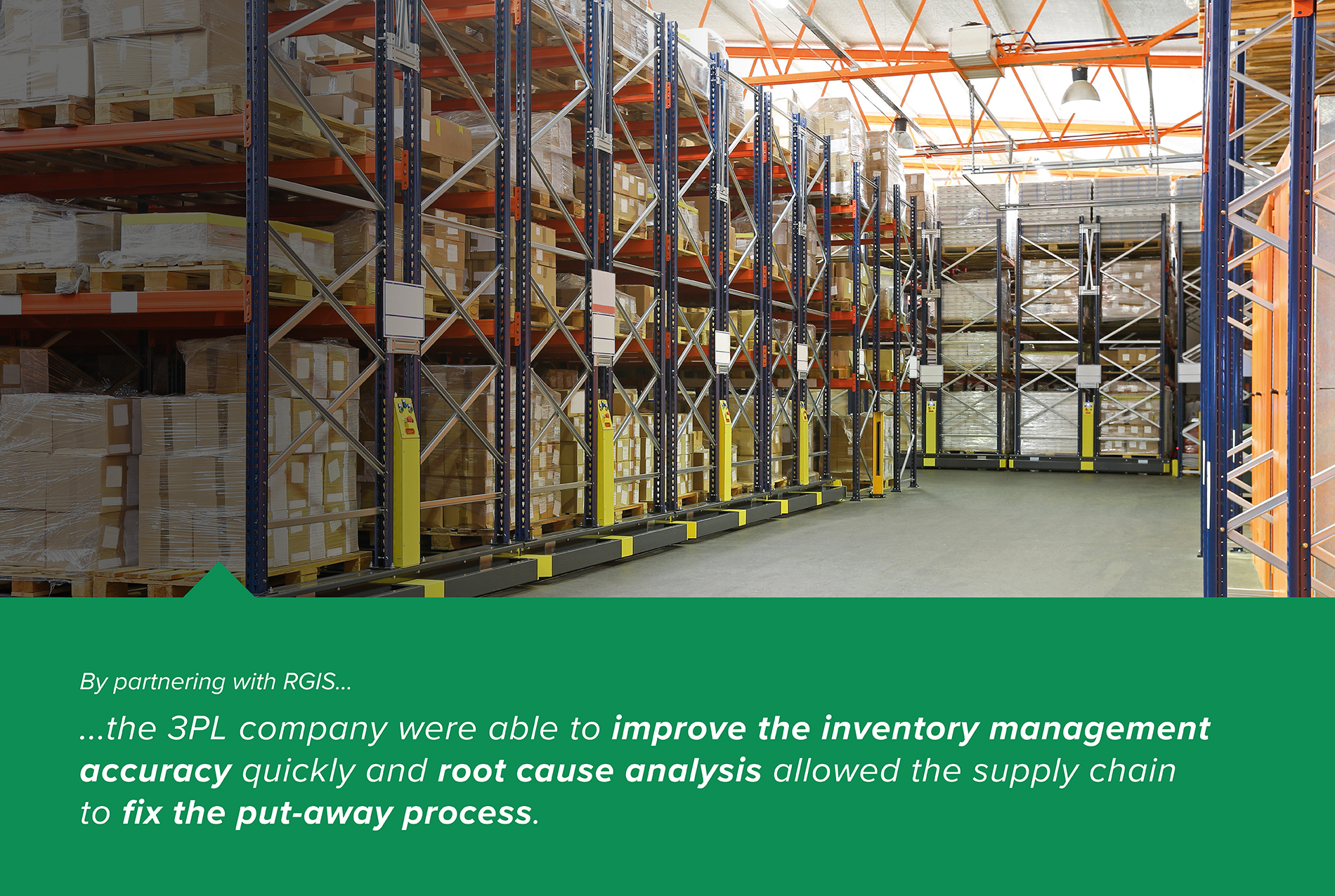 Identifying Missing Products Within a THIRD PARTY LOGISTICS Warehouse