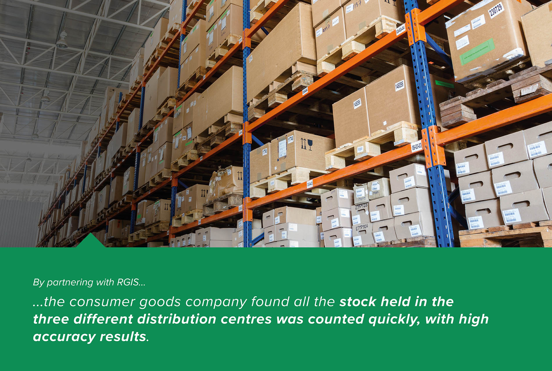 Multiple Distribution Centre Inventory Counts Managed by Third Parties