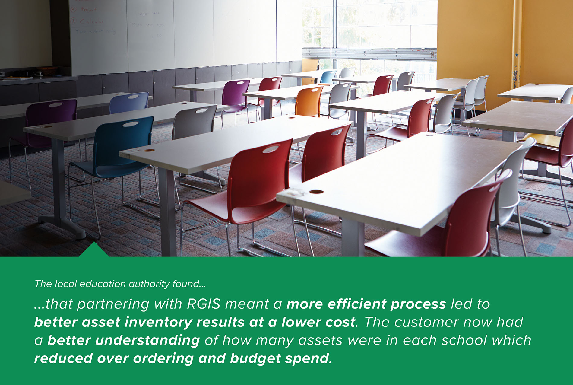 RGIS Case Study Local Education Authority Fixed Assets