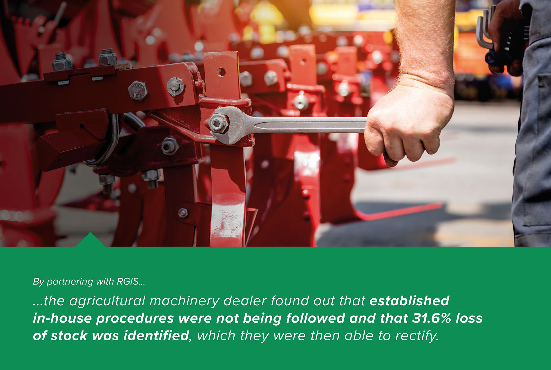 Inventory Management Solution for Agricultural Machinery Dealer