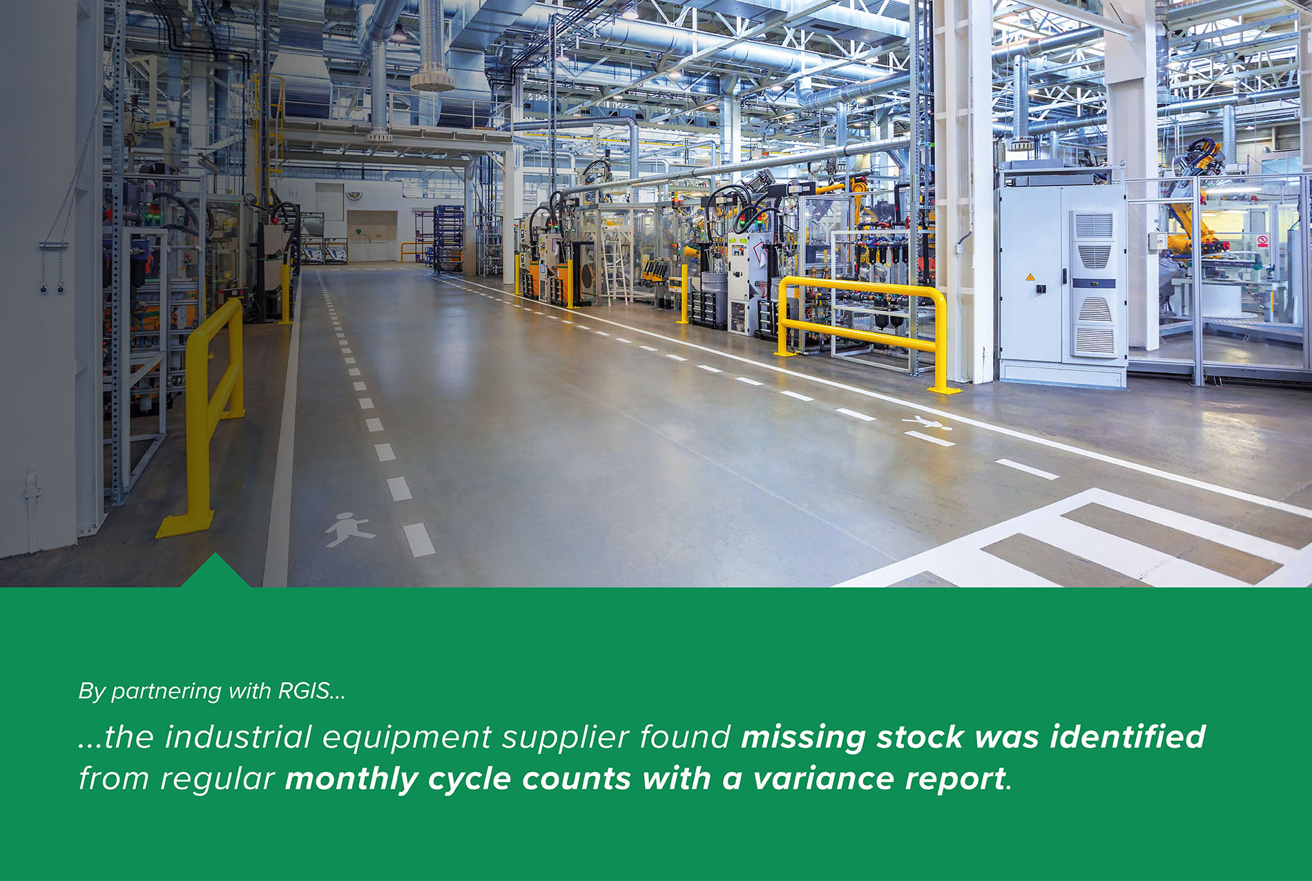 Distribution Center Monthly Cycle Counts