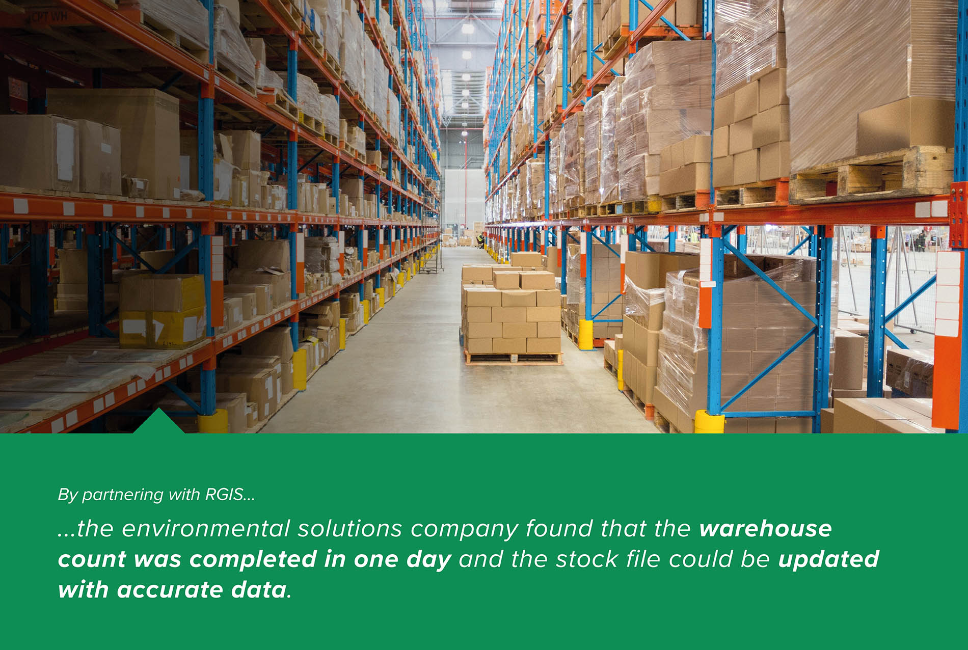 Manual Warehouse Count With a One Day Turnaround