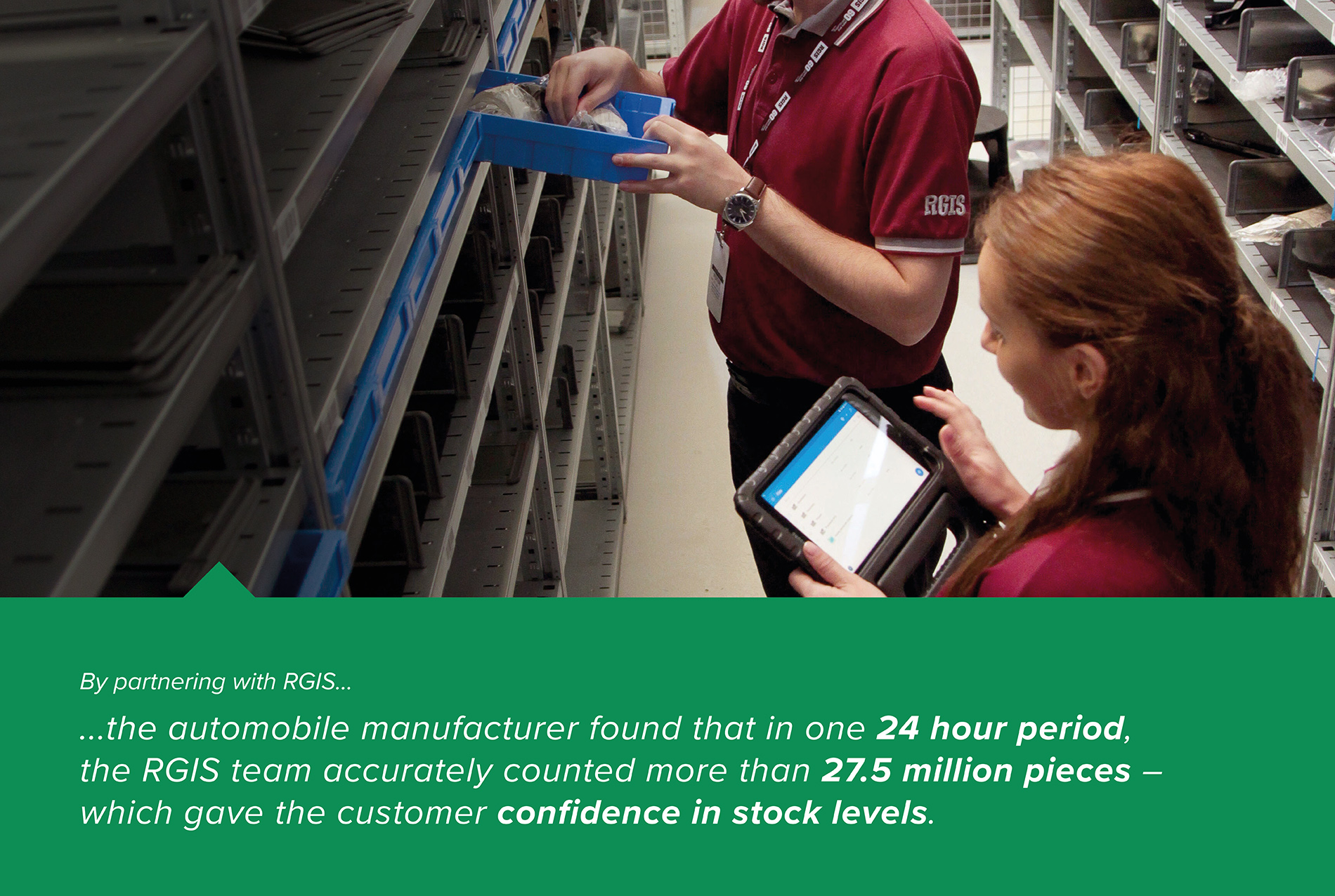 Manufacturing Plant Parts Inventory