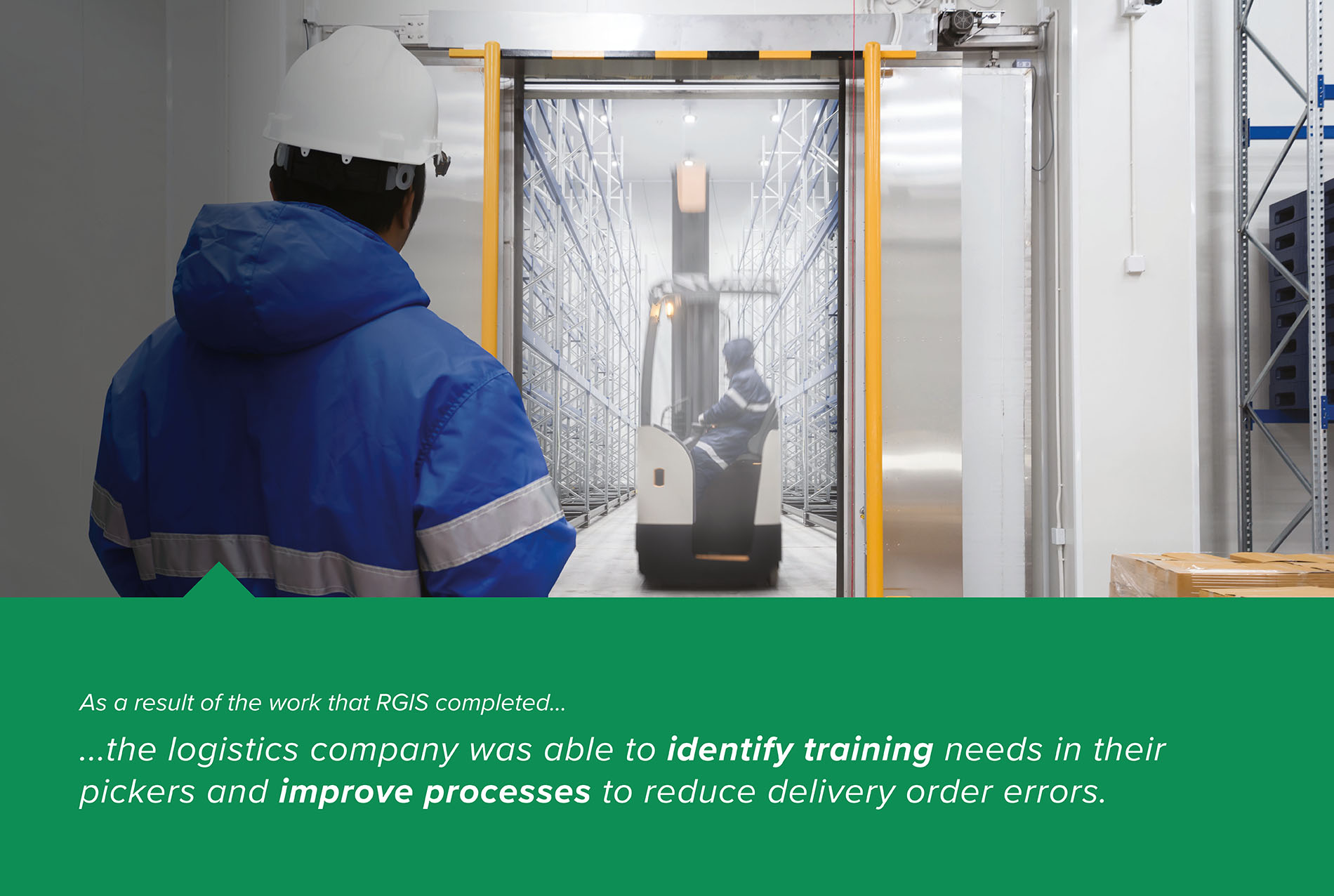 RGIS case study of Warehouse Delivery Checks And Pick Accuracy