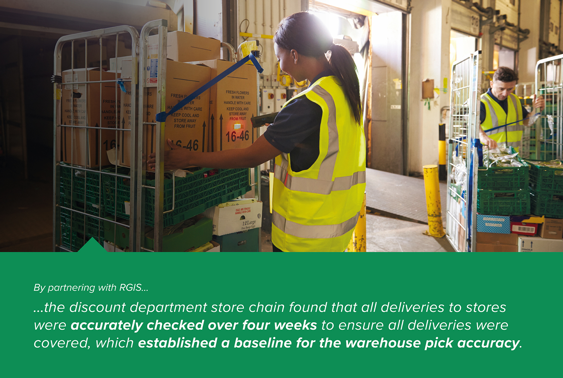 Third Party Logistics Warehouse Pick Accuracy Audit at Store Level