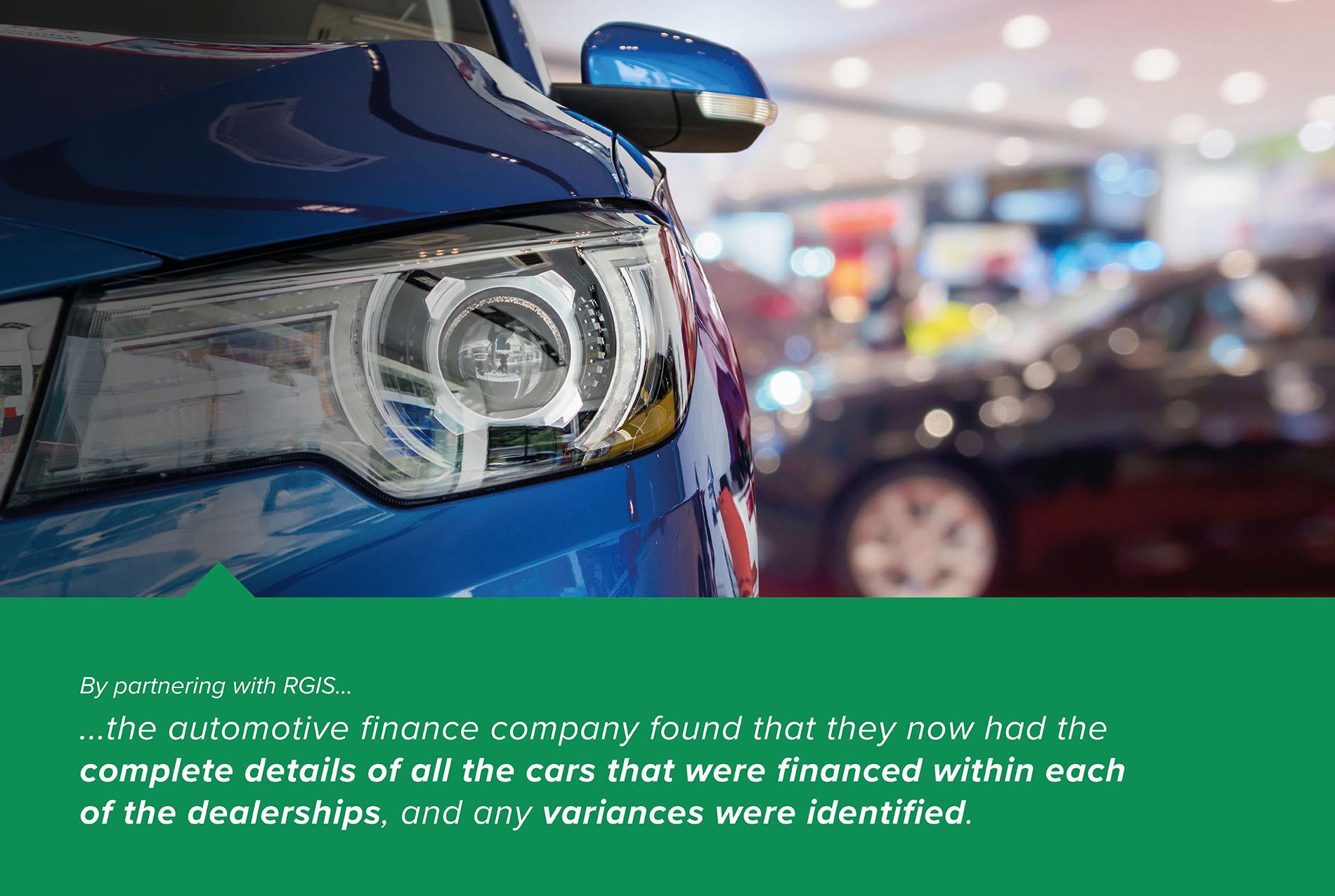 Vehicle Compliance Audit