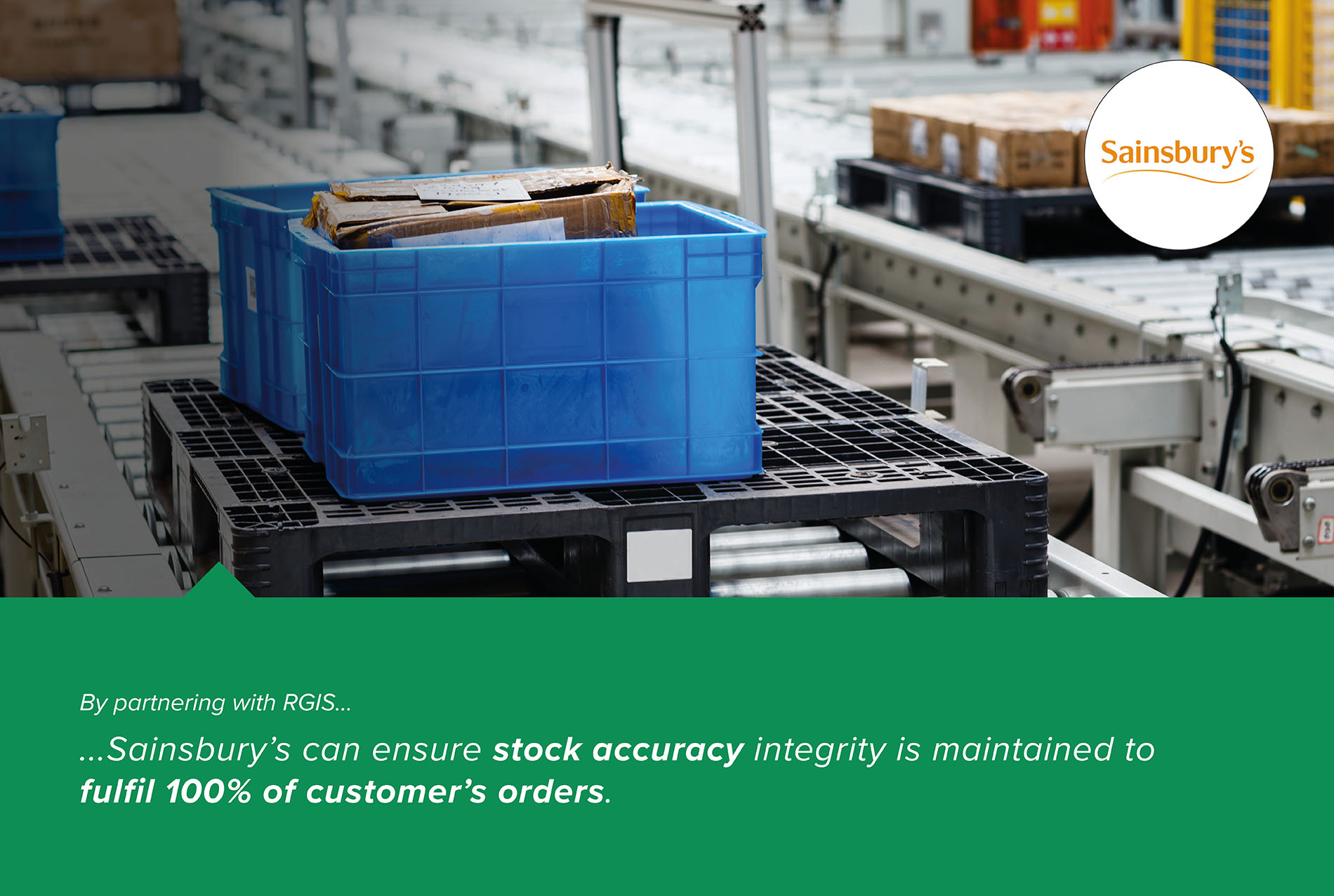 Online Fulfilment Centre Stock Accuracy Variance Reporting RGIS Case Study