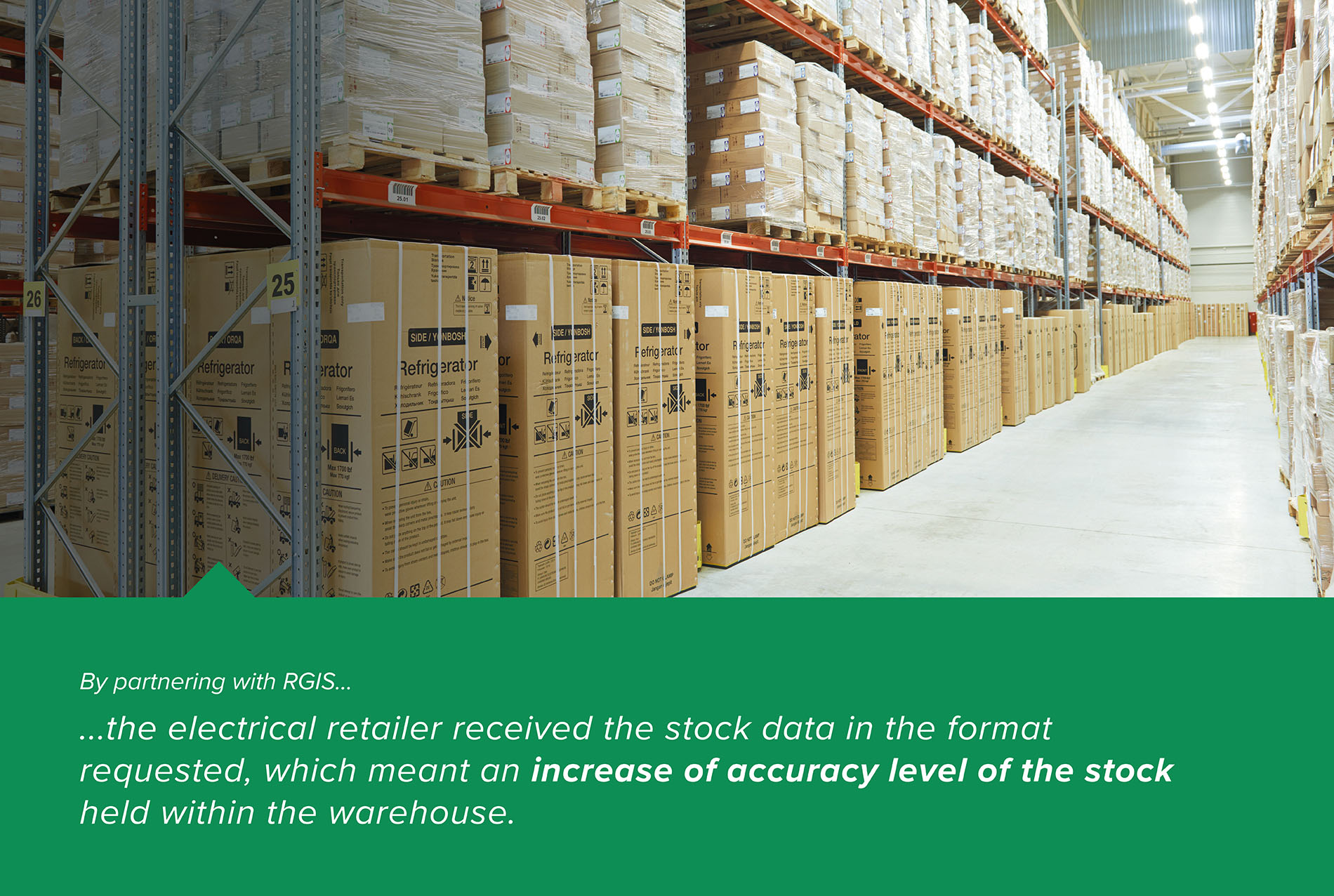 Electrical Retailer Warehouse Wall-to-Wall Count Case Study