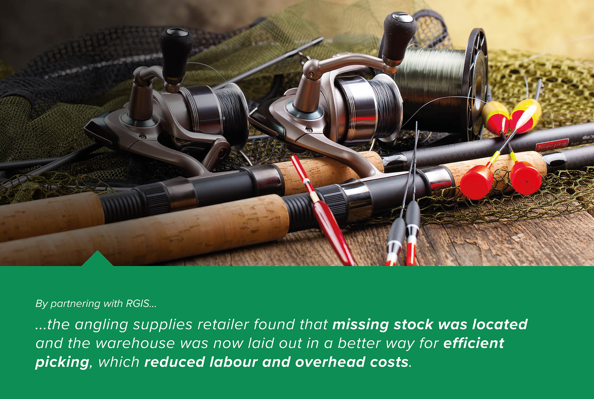 Angling Supplies Retailer Warehouse Relocation Count