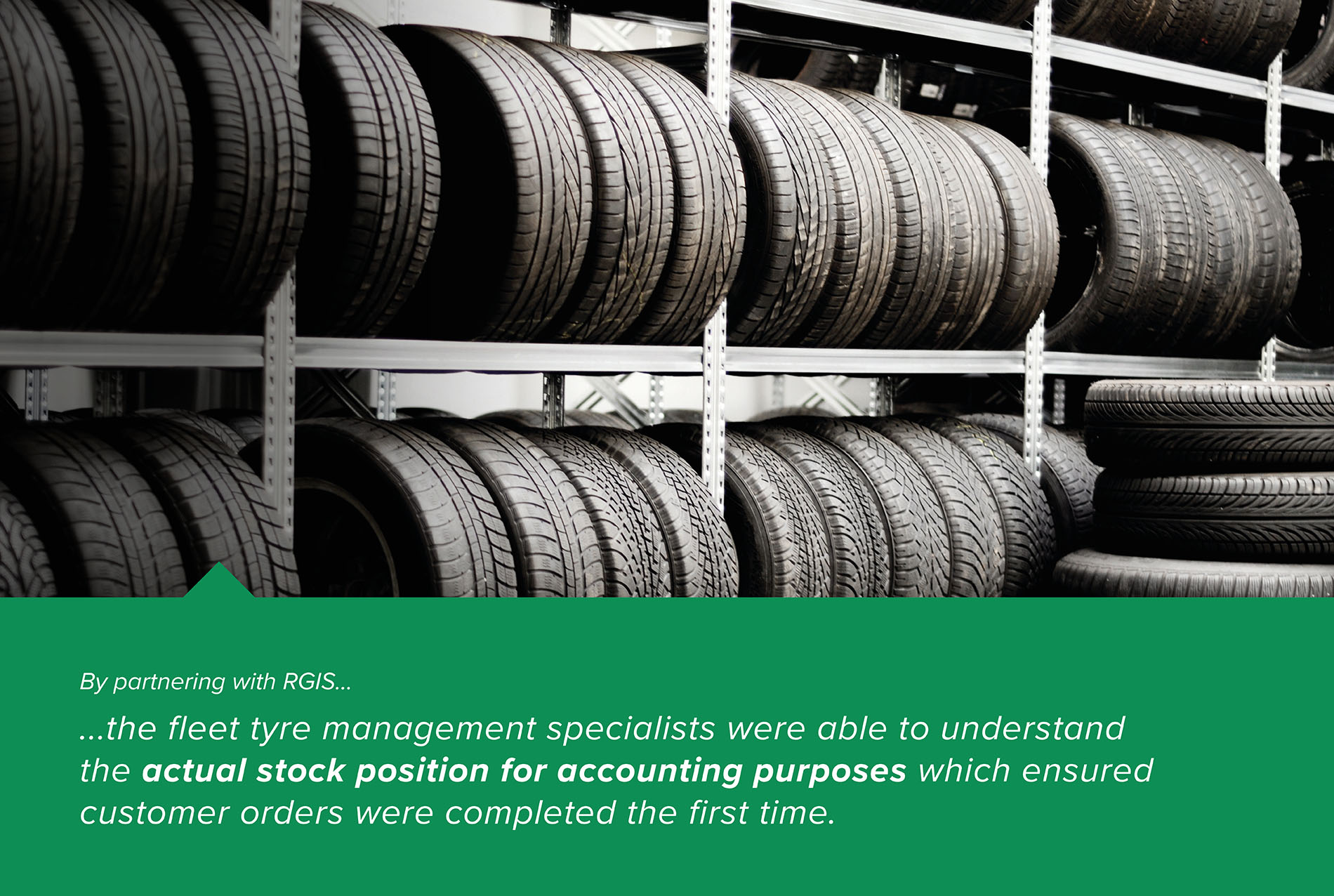 Tyre Audit to Eliminate Inventory Inconsistencies