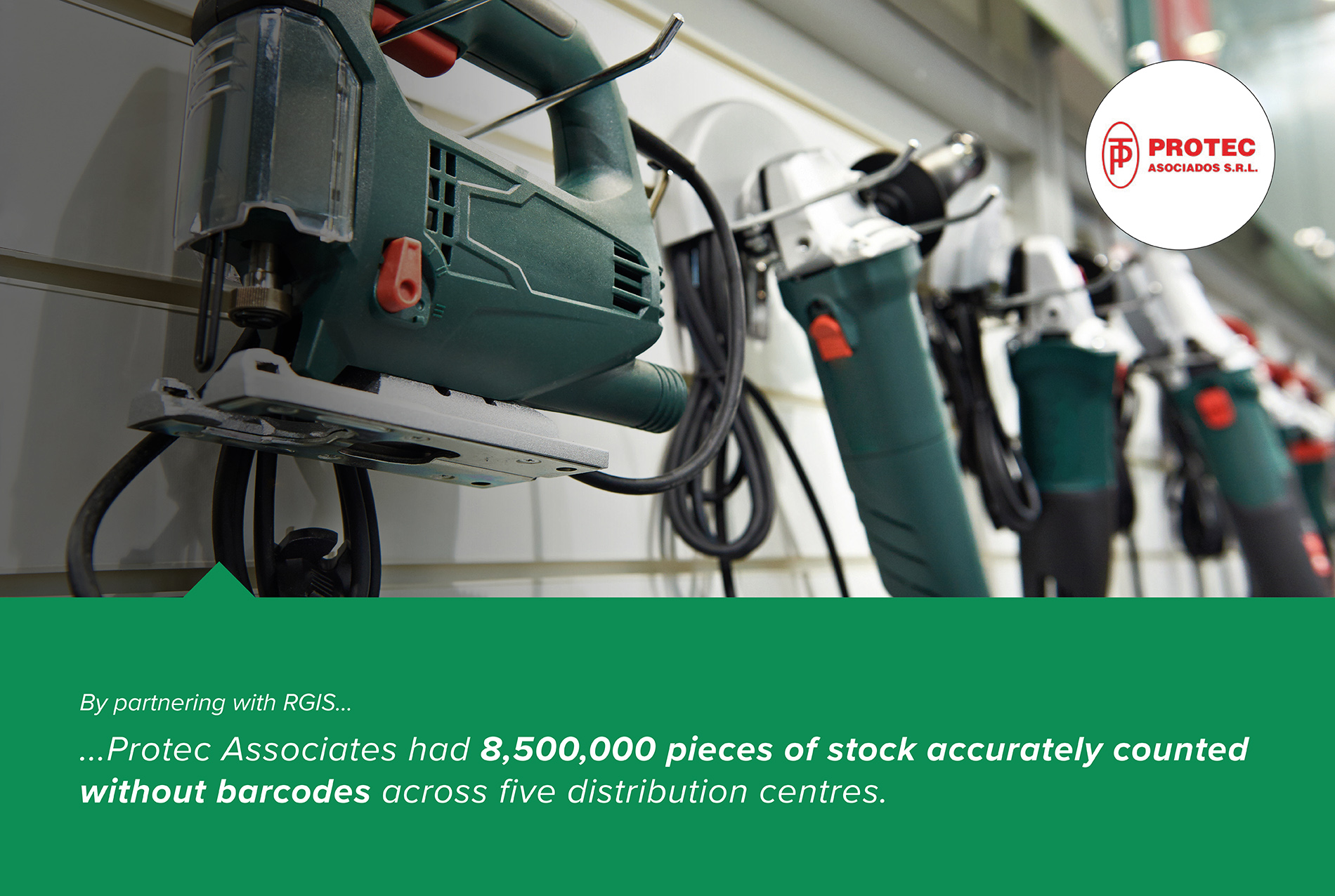 Tool Distribution Centres Full Counts with No Barcodes