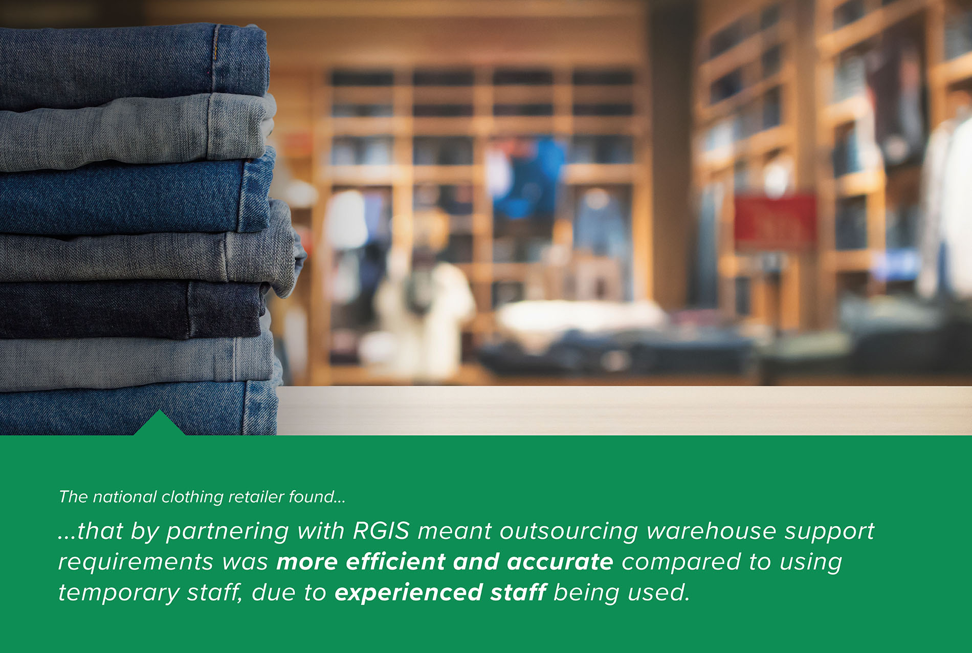 RGIS Case Study Warehouse Staff Support