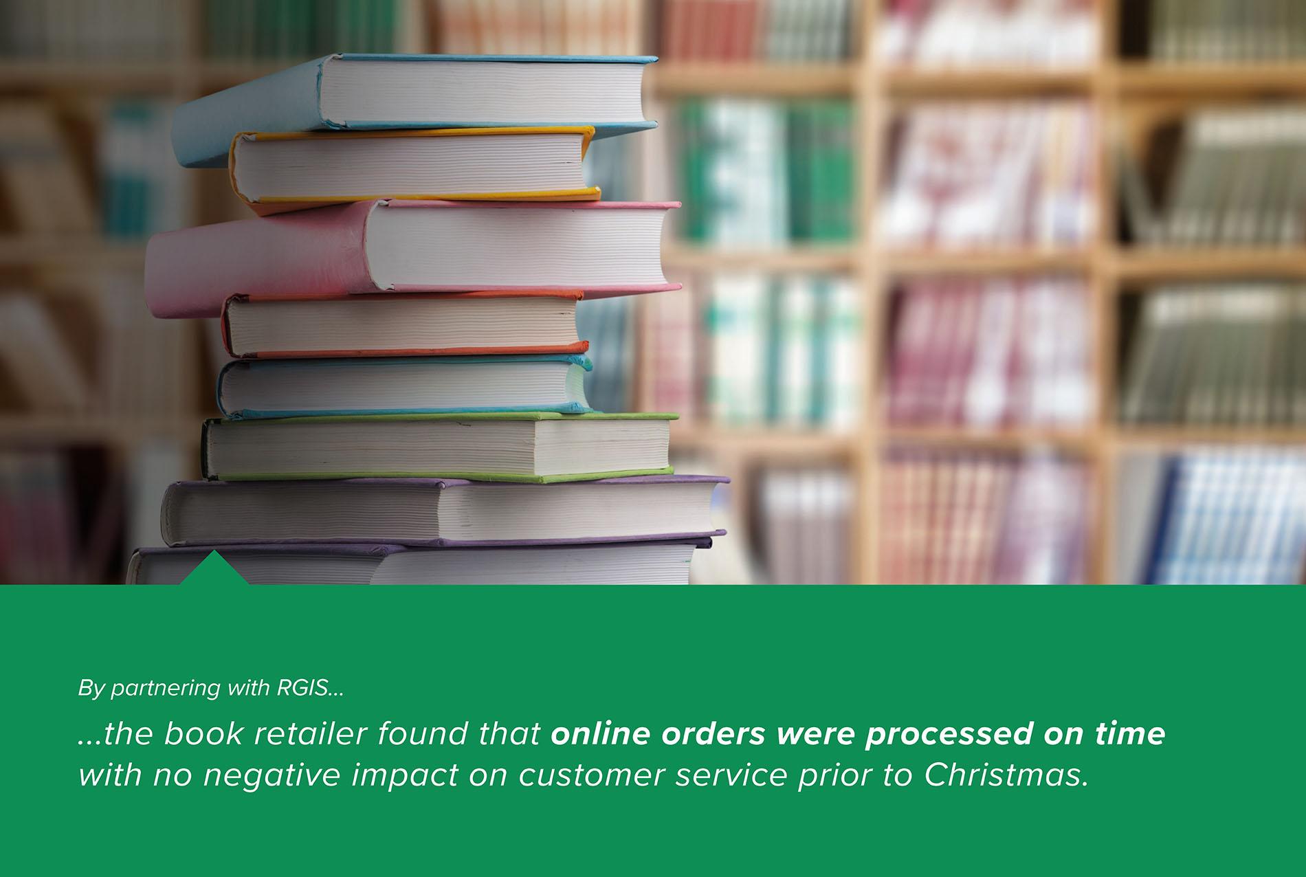Staff Support to Reduce Online Order Backlog