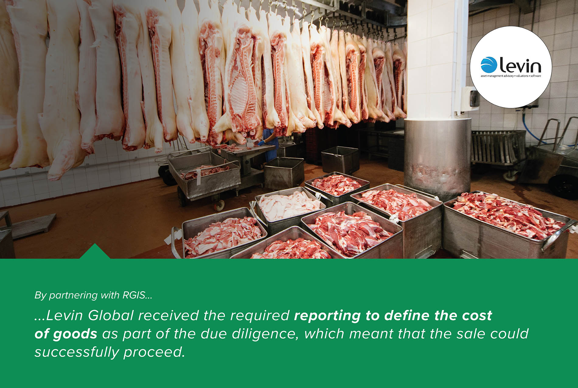 Inventory by Weight of Meat Across Three Distribution Centres