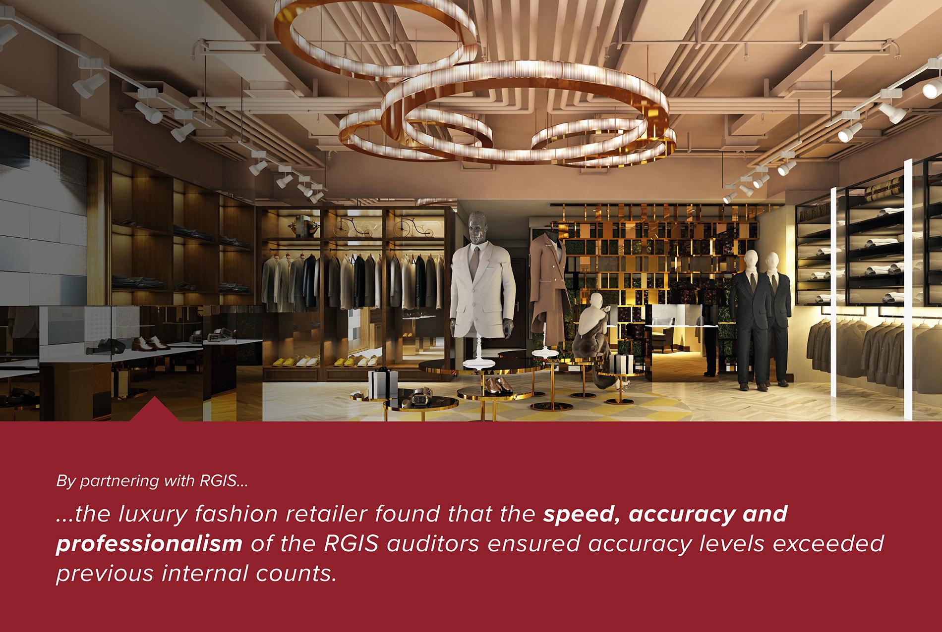 Luxury Fashion Brand Store Inventories