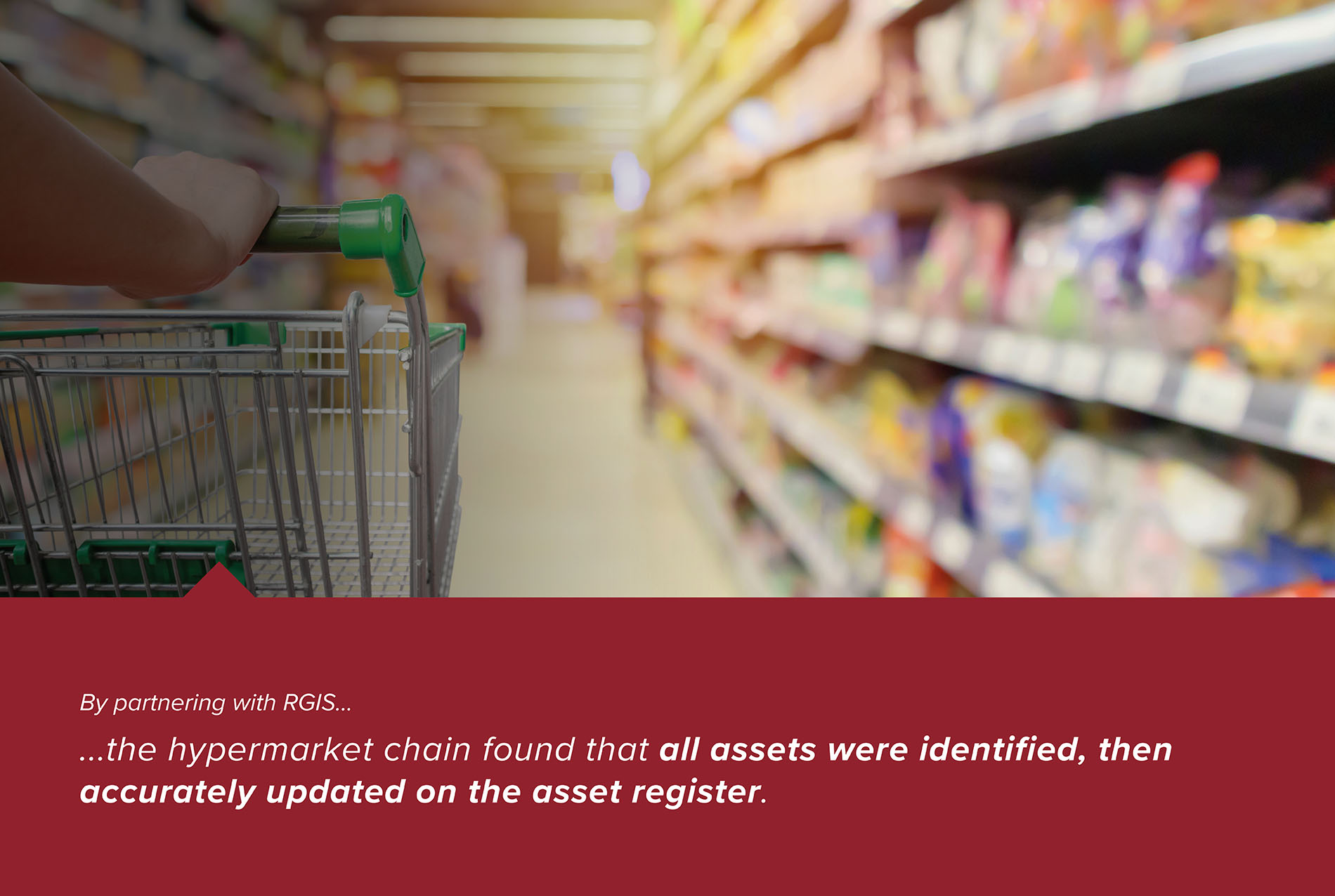 Hypermarket Fixed Asset Tagging and Asset Count