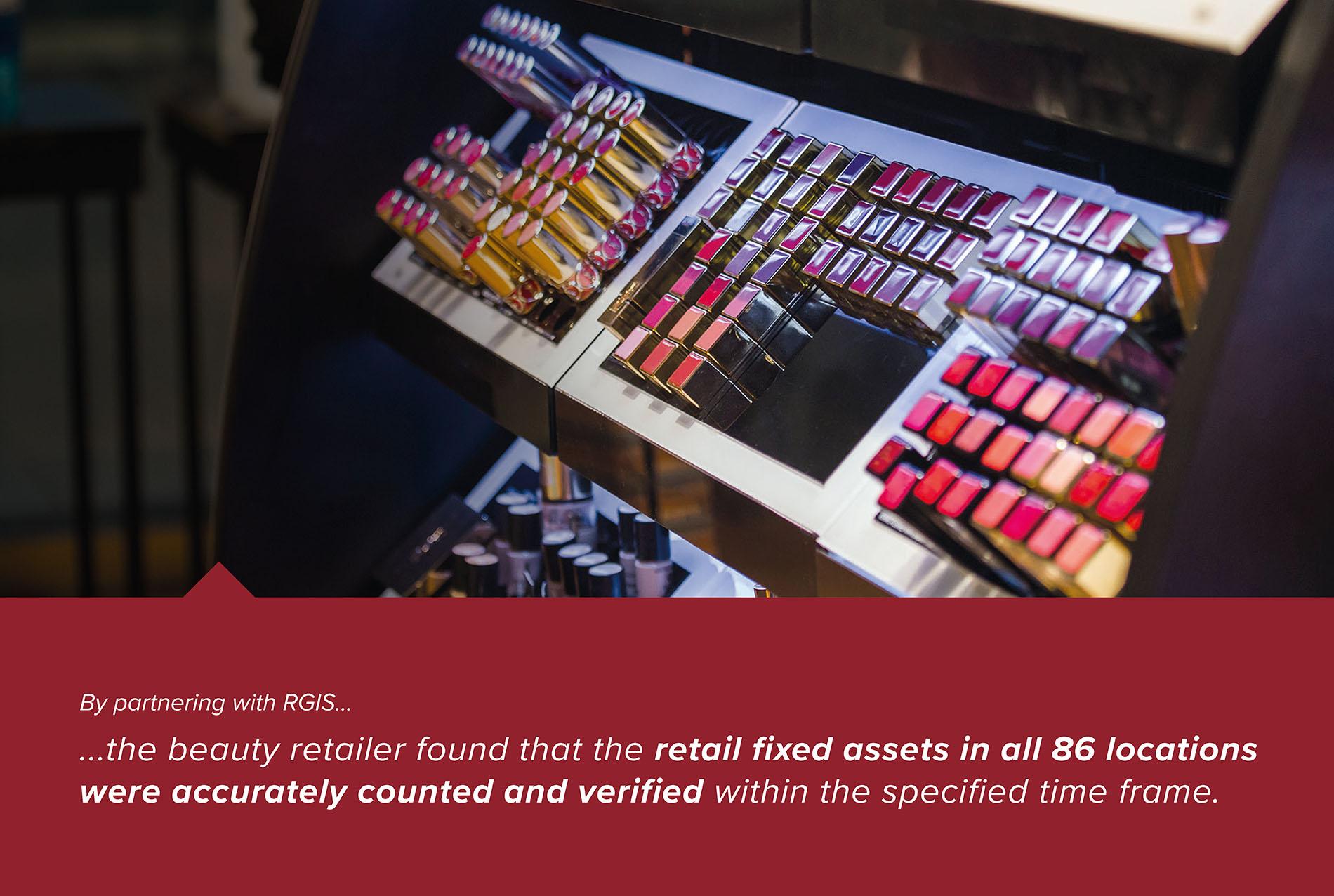 Retail Fixed Asset Verification Count