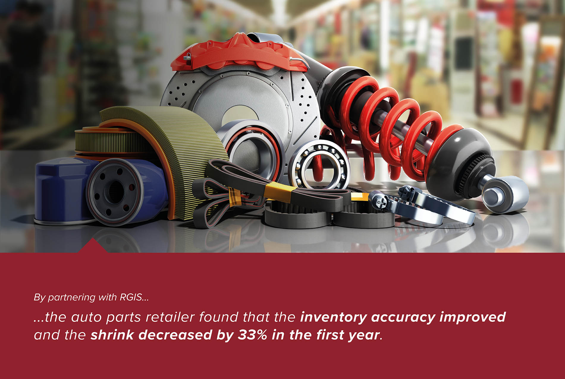 Auto Parts Retailer Inventory Count to Reduce Shrink