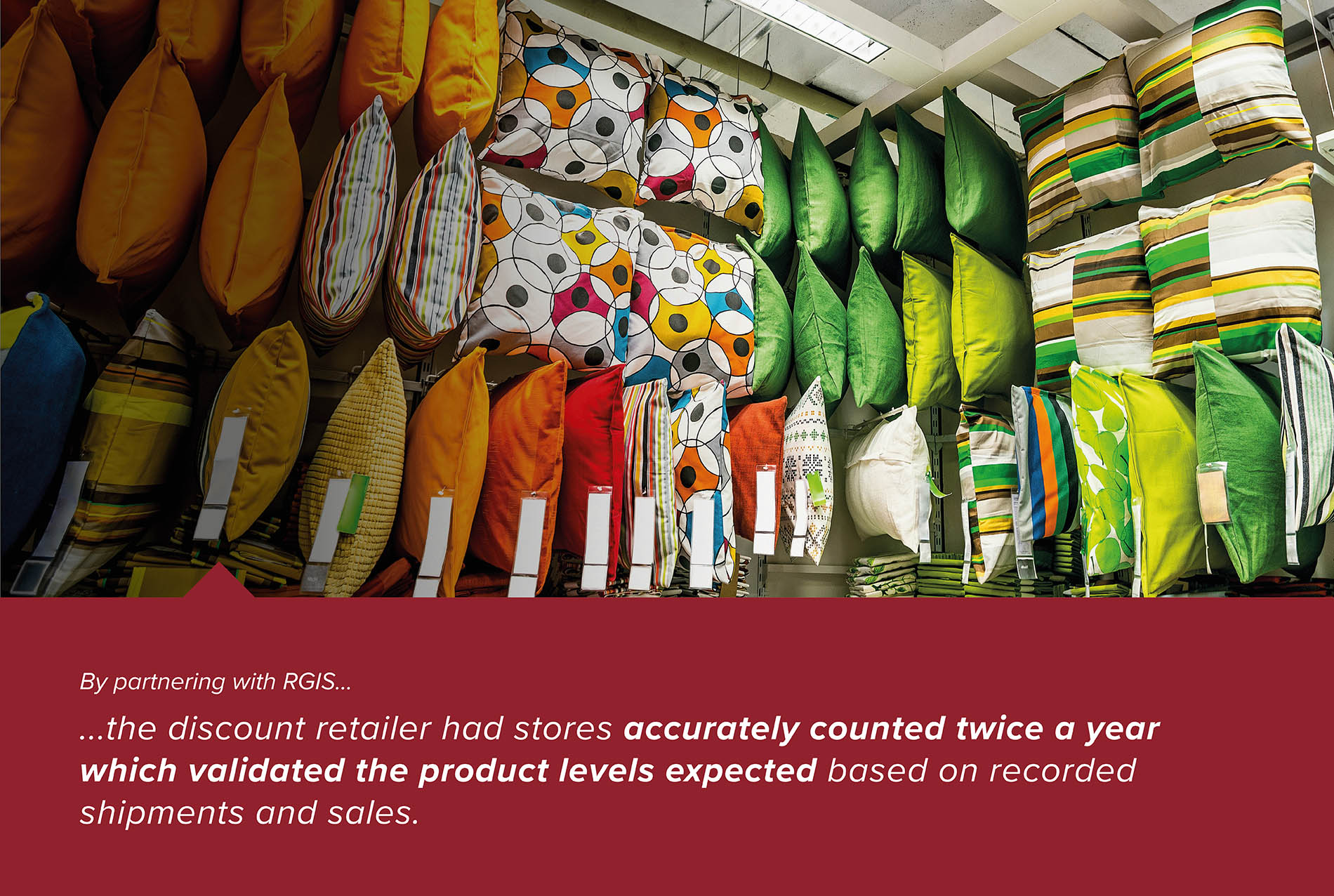 Discount Retailer Store Inventories to Manage Inventory Levels