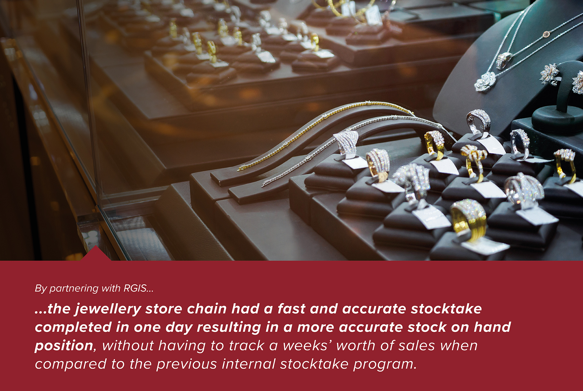 High Value Jewellery Stores Stock Count