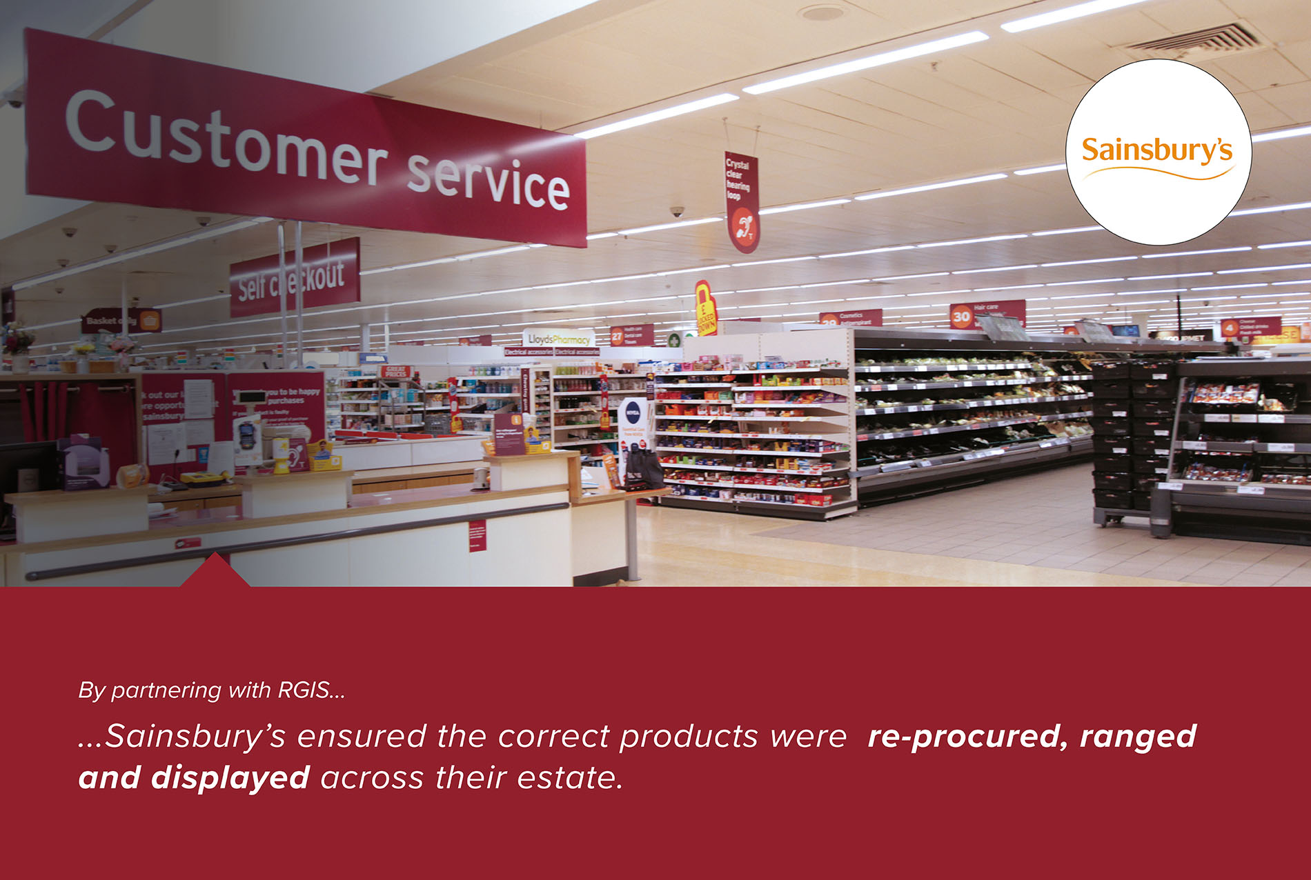 RGIS Case Study of Retail Store Bay Labelling