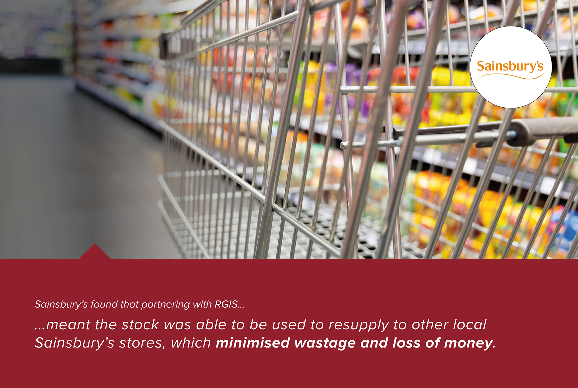 RGIS Case Study of Merchandising Support to Sainsburys