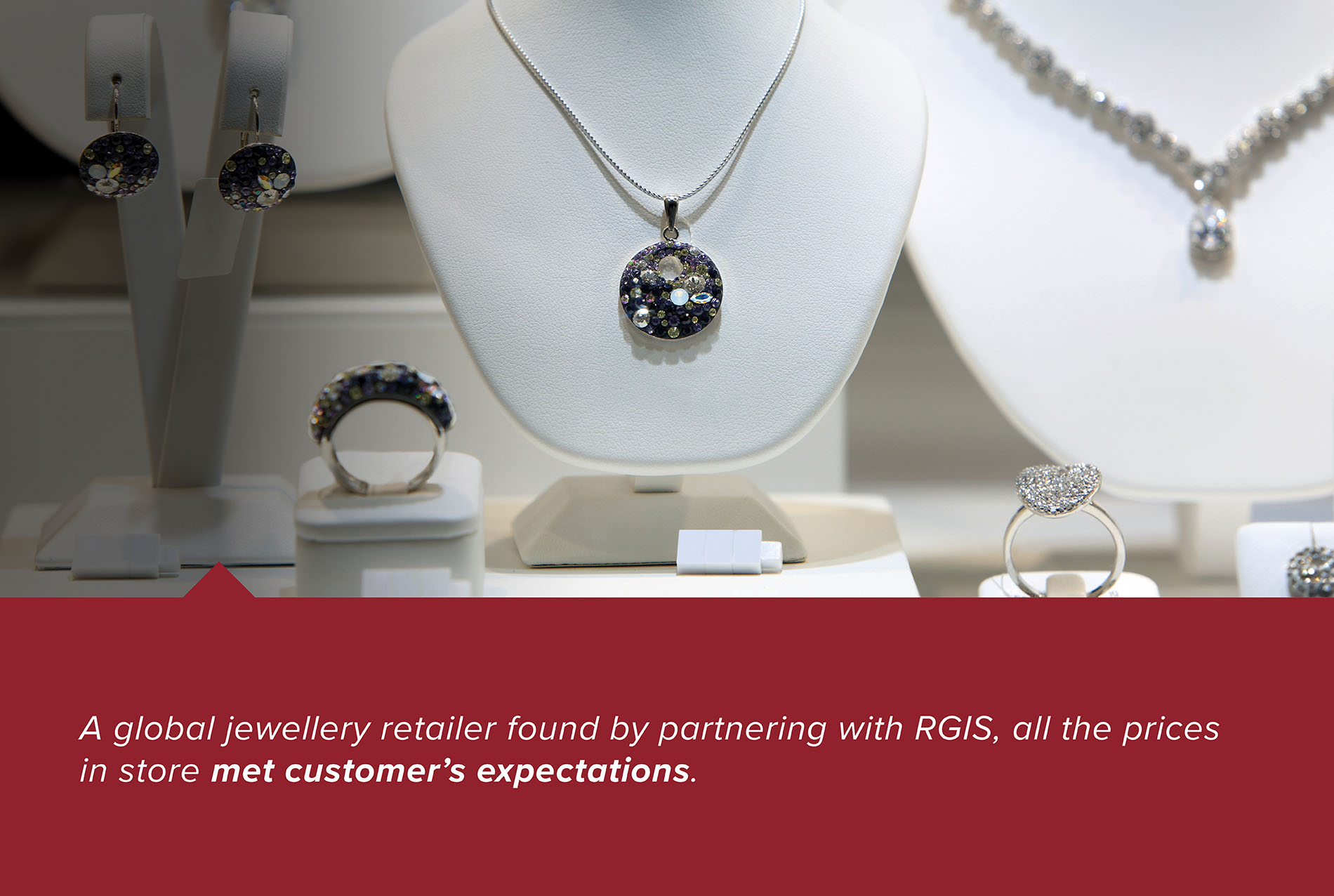 RGIS case study of a jewellery retailer auding stock and pricing