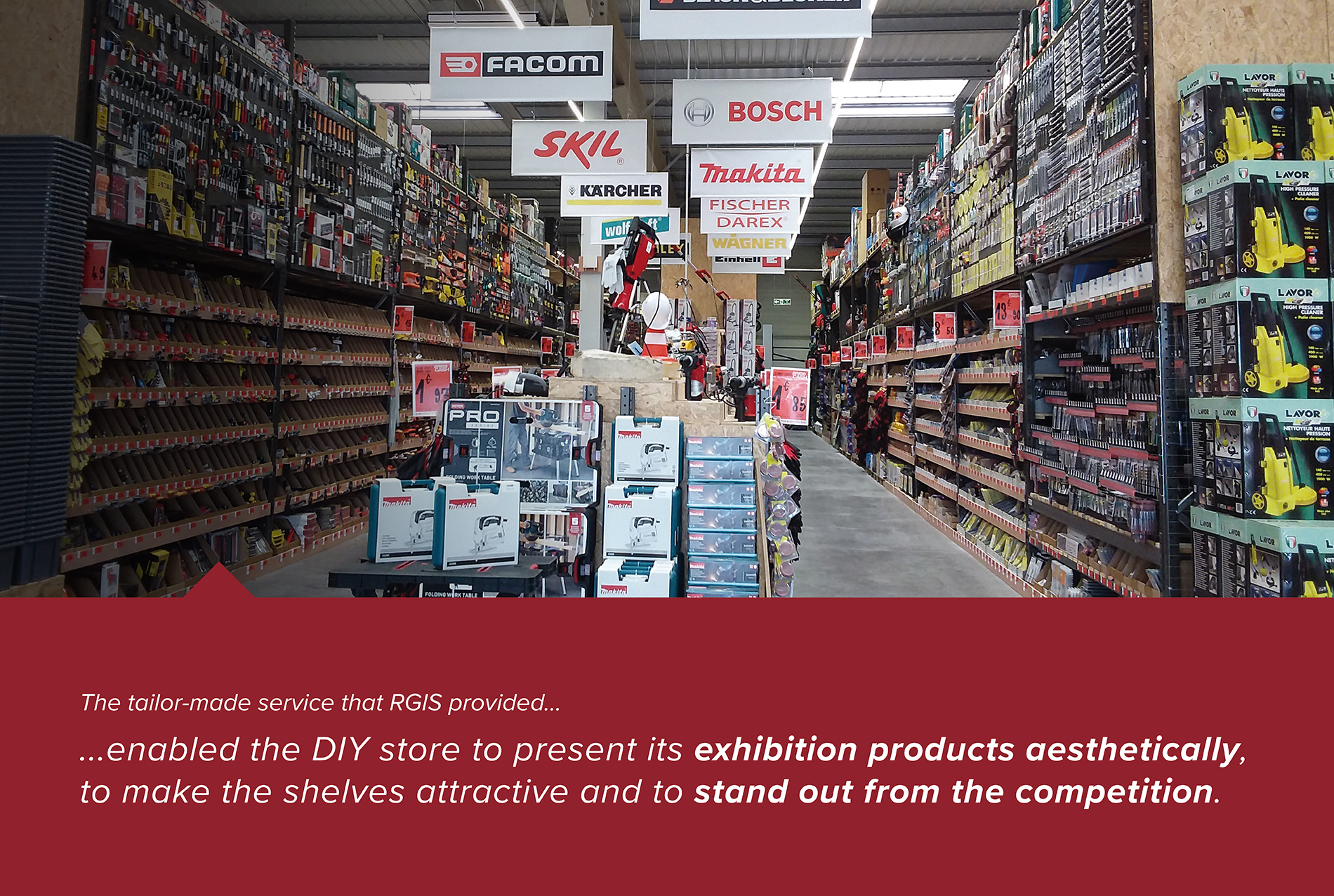 RGIS Case Study of Merchandising Exhibition Displays In-Store