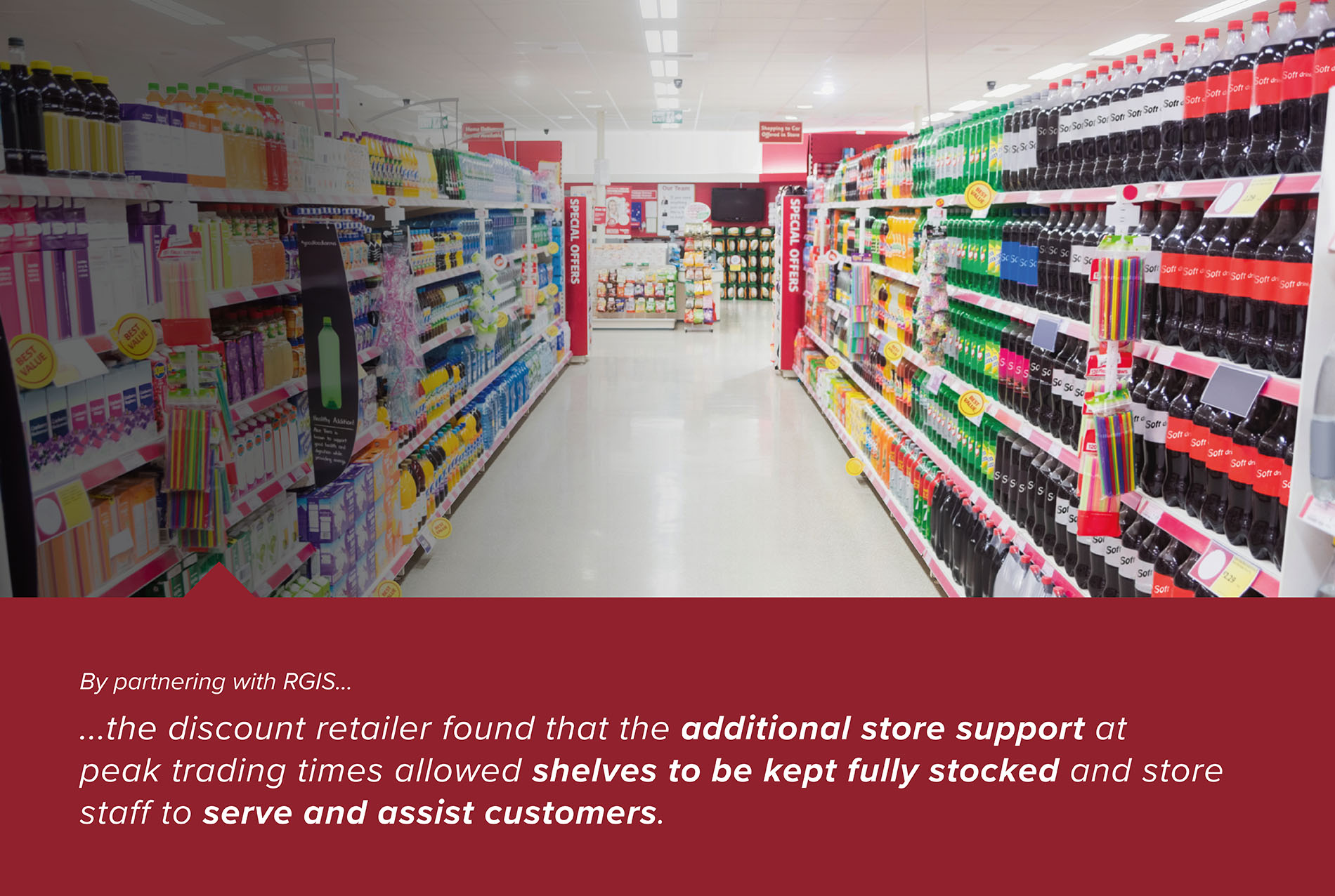 Peak Trading Store Support Keeping Stock Replenished on Shelves