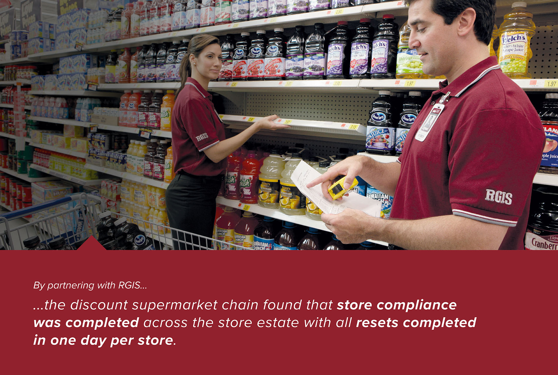 Discount Supermarket Chain Store Resets