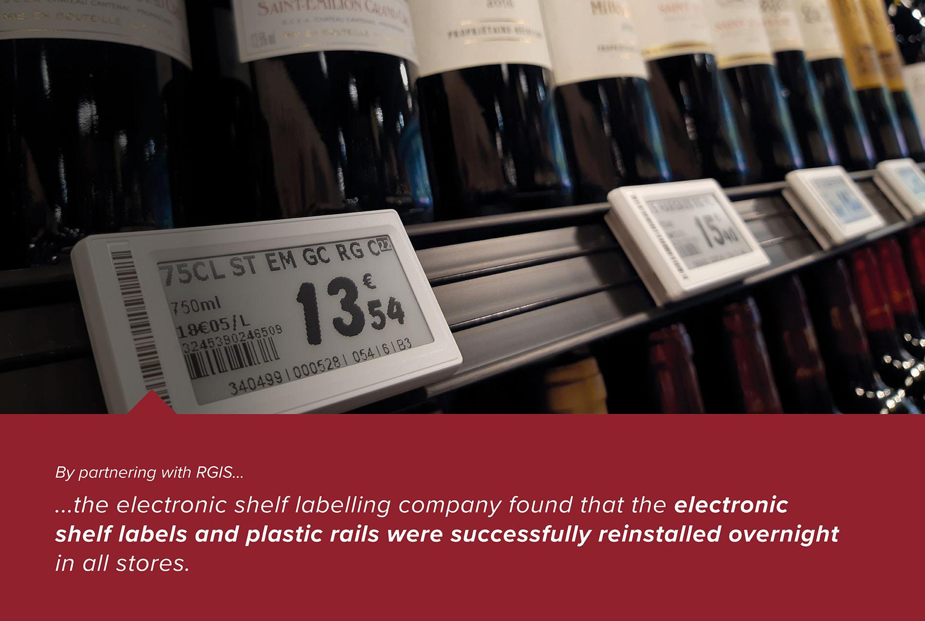 Electronic Shelf Labelling Reinstallation